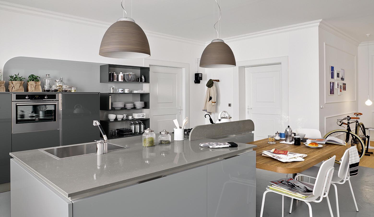 Carrera go cucine a parete veneta cucine architonic - Cucine a parete ...
