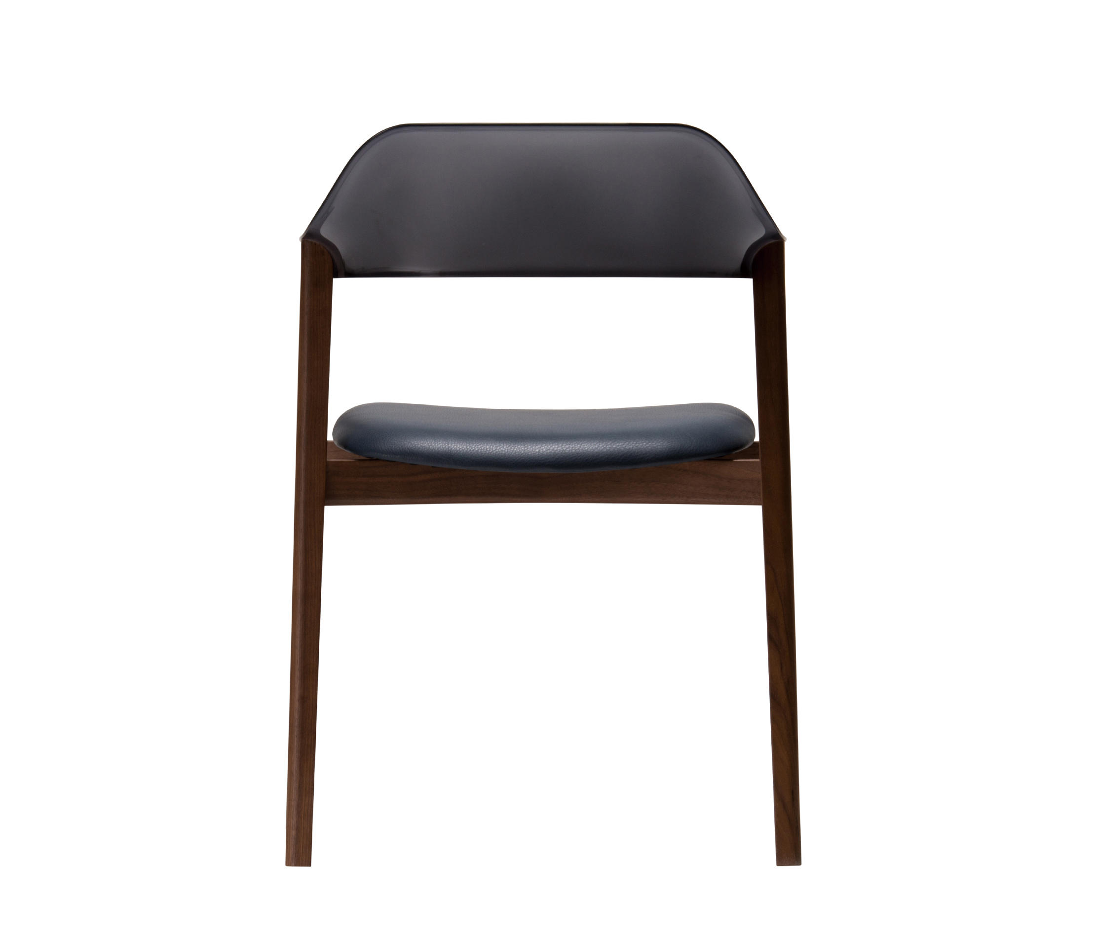... TEN Armchair Black Resin Back Upholstered Seat By Conde House | Chairs  ...
