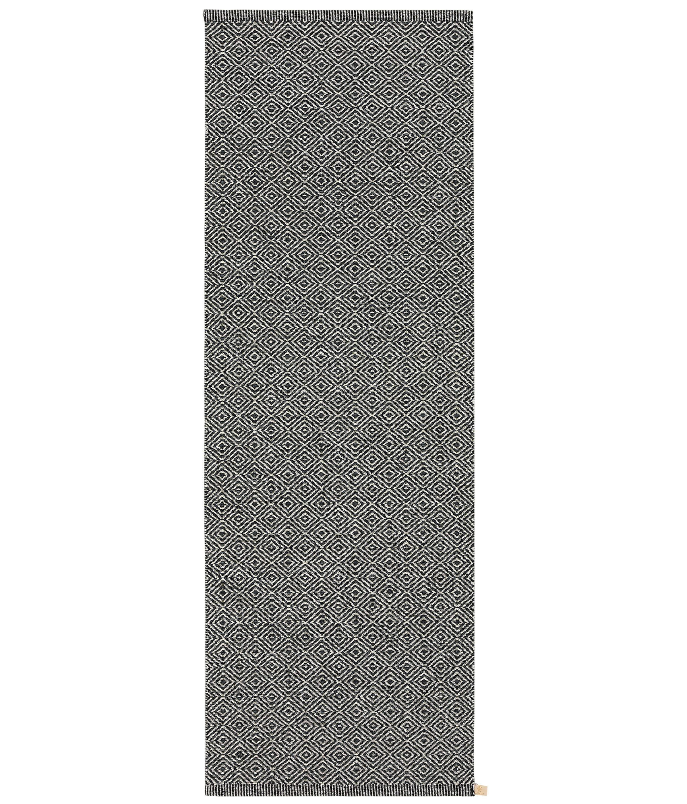 Kasthall Goose Eye Icon häggå goose eye | almost black-light natural grey 9537-5006