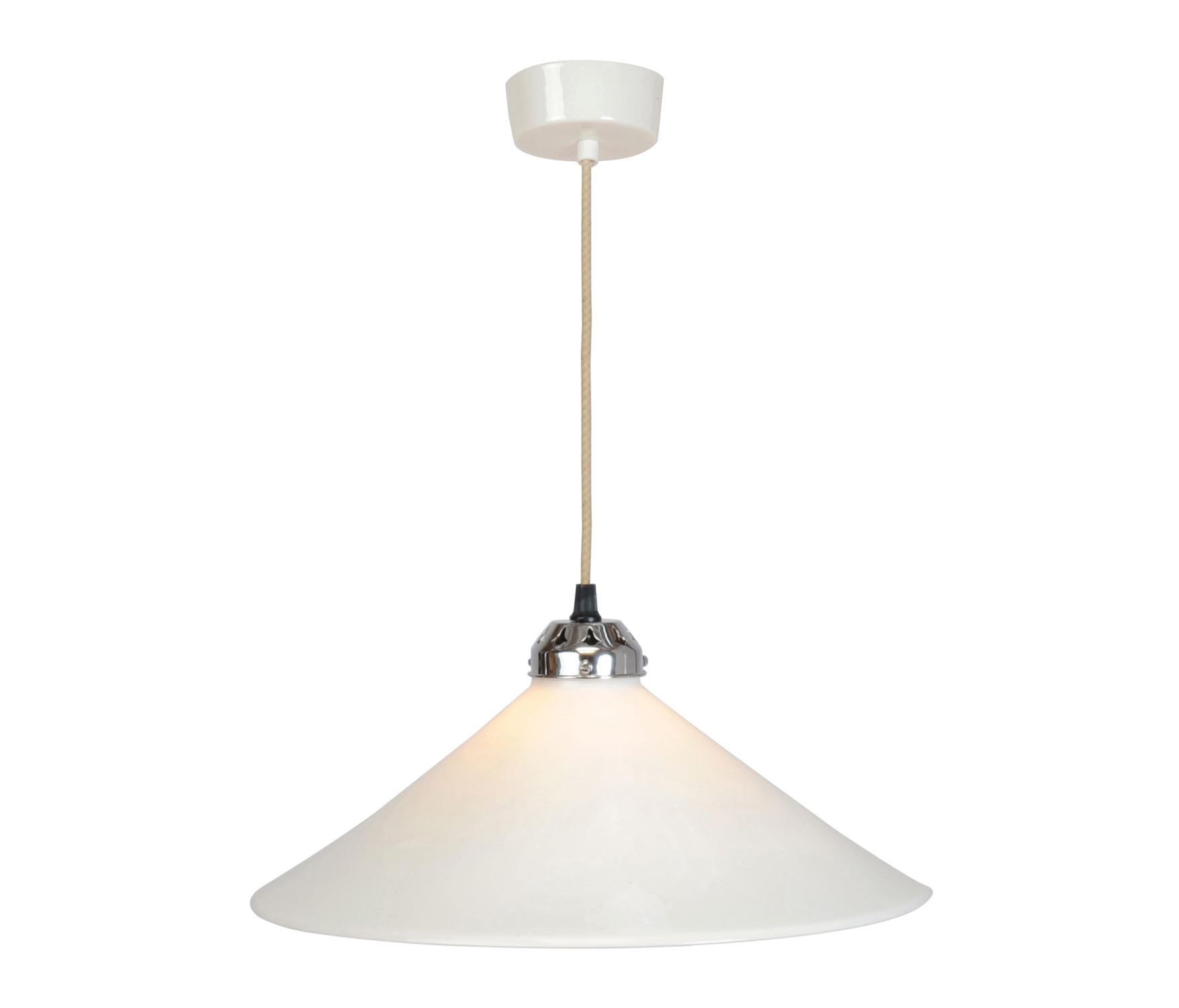 Cobb large plain pendant light white iluminaci n - Iluminacion original ...