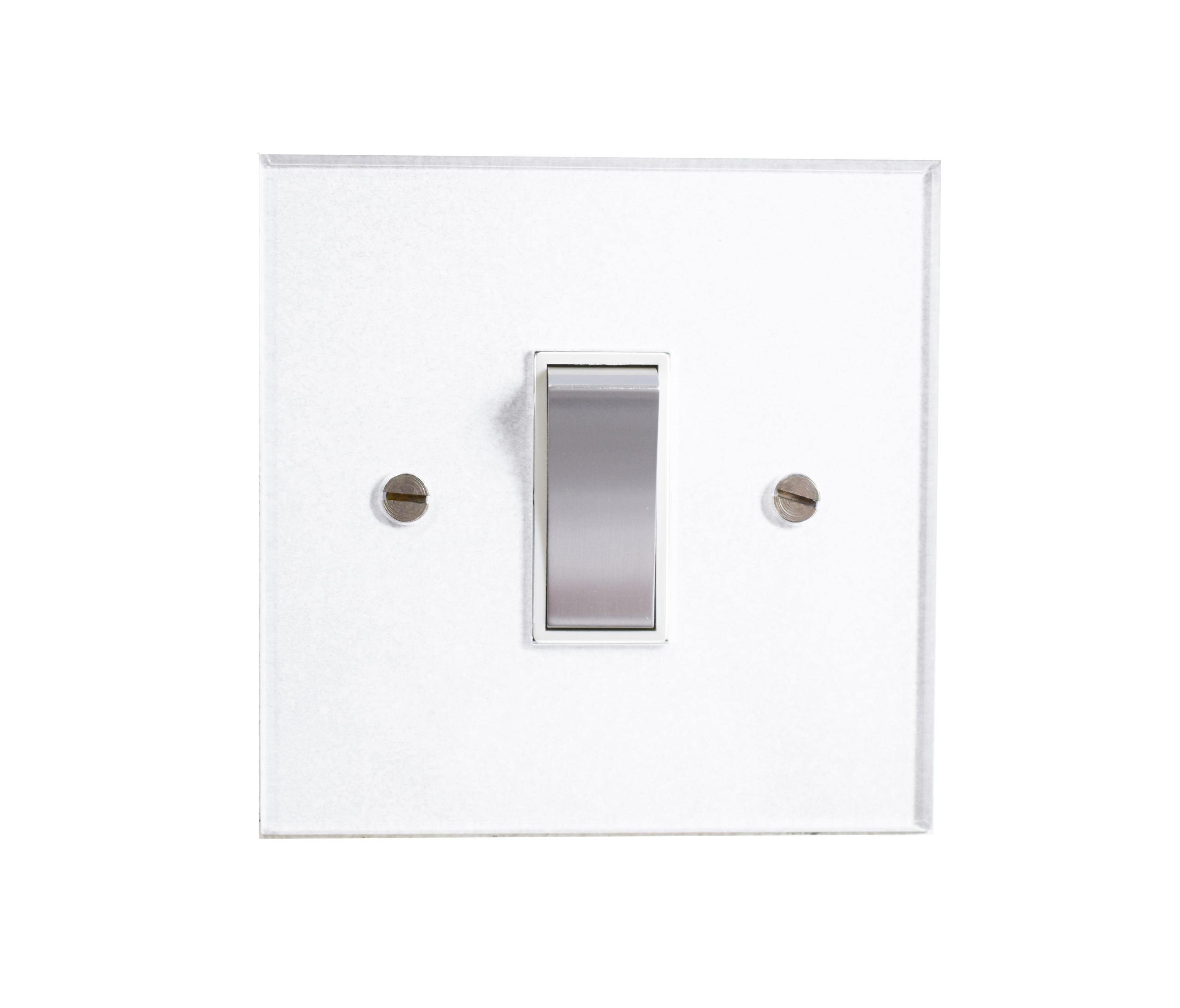 Rocker Switch Plate Amusing Invisible Lightswitch® With Stainless Steel Rocker  Twoway Design Ideas