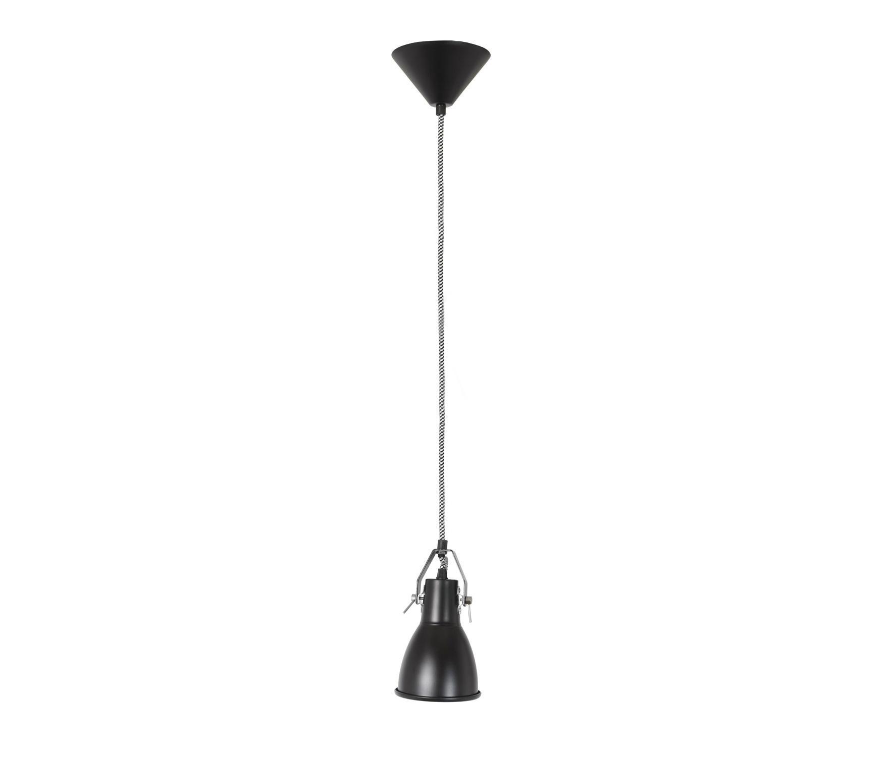 Stirrup 1 pendant light black iluminaci n general de - Iluminacion original ...