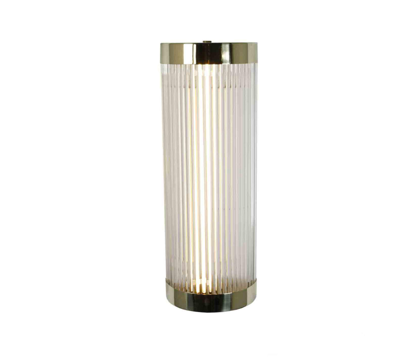 Pillar Led Wall Light 40 15cm Polished Br By Original Btc