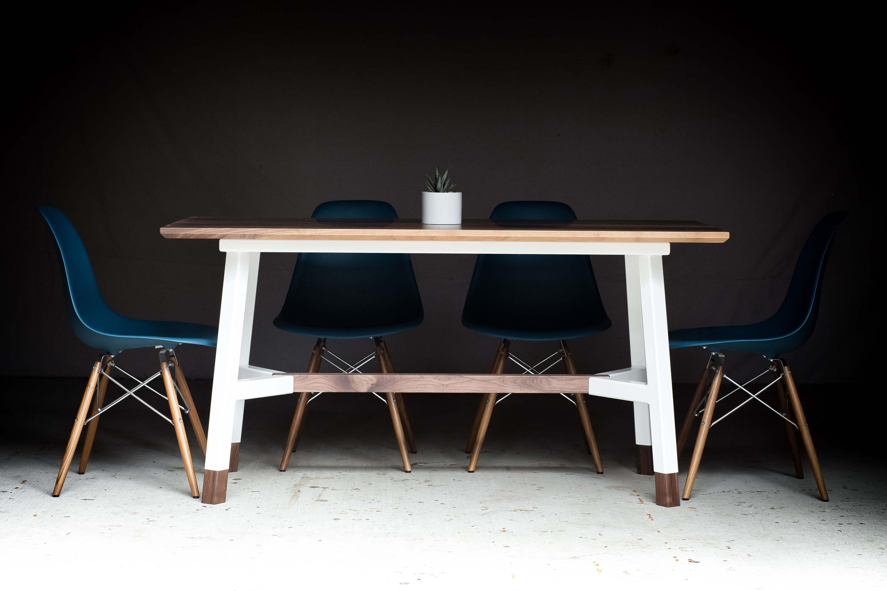 A Frame Dining Table Dining Tables From Harkavy