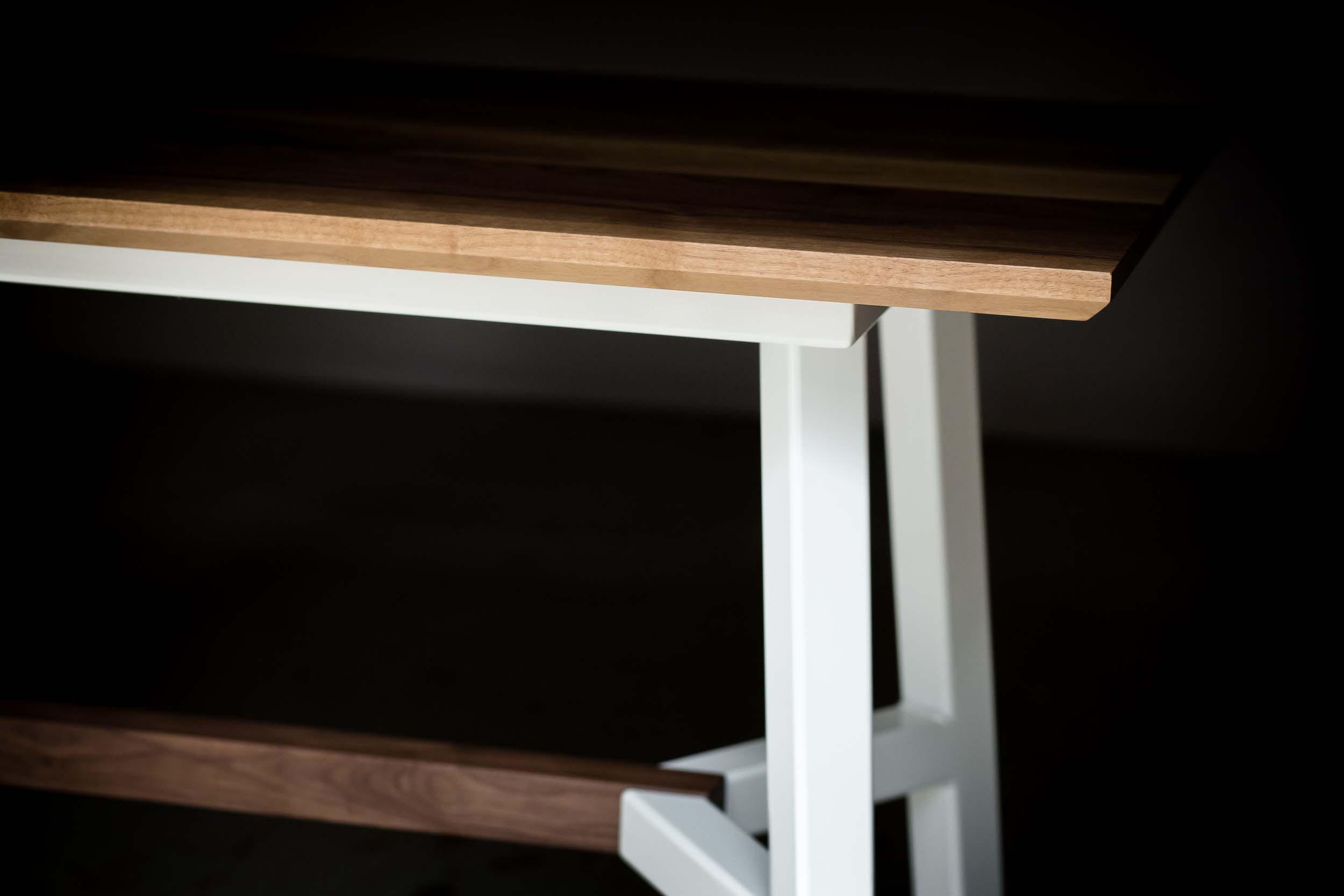 A frame dining table dining tables from harkavy for Dining table frame