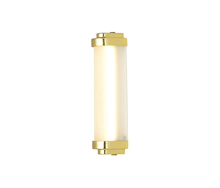 Led Wall Light 28cm Polished Br
