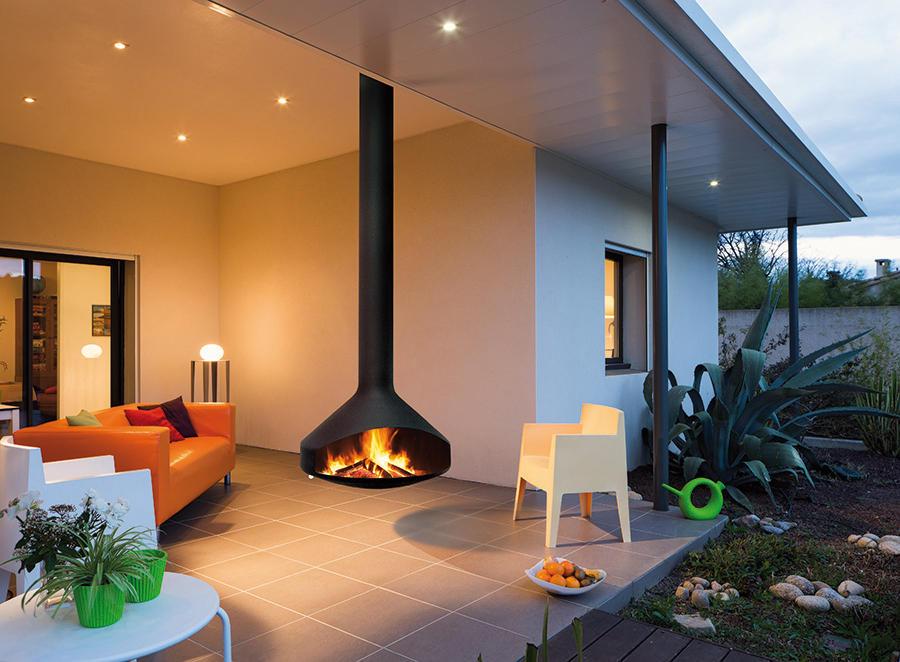 ergofocus outdoor chemin es foyer ouvert de focus architonic. Black Bedroom Furniture Sets. Home Design Ideas