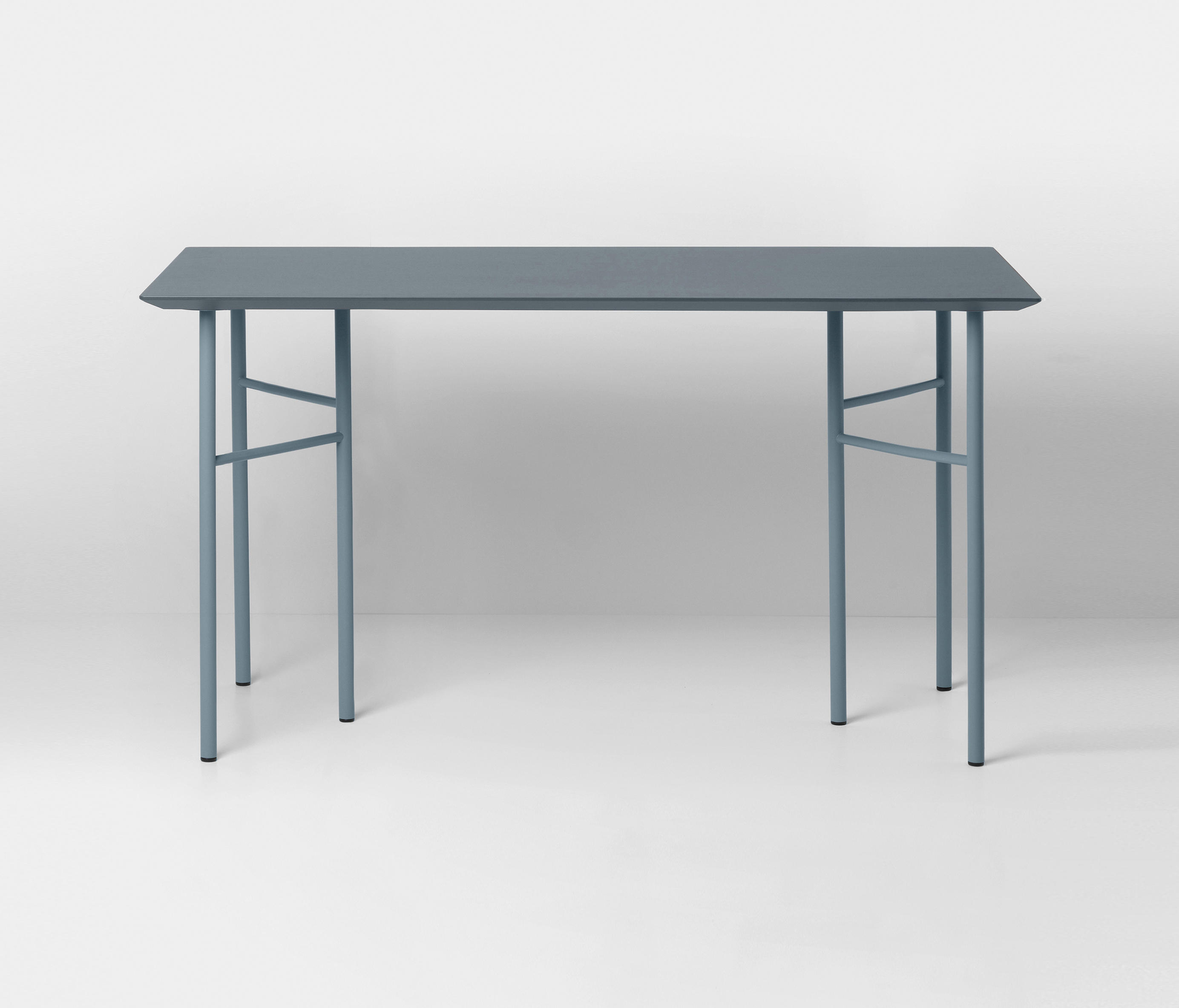 mingle table top dusty blue linoleum 135 cm tabletops from ferm living architonic. Black Bedroom Furniture Sets. Home Design Ideas
