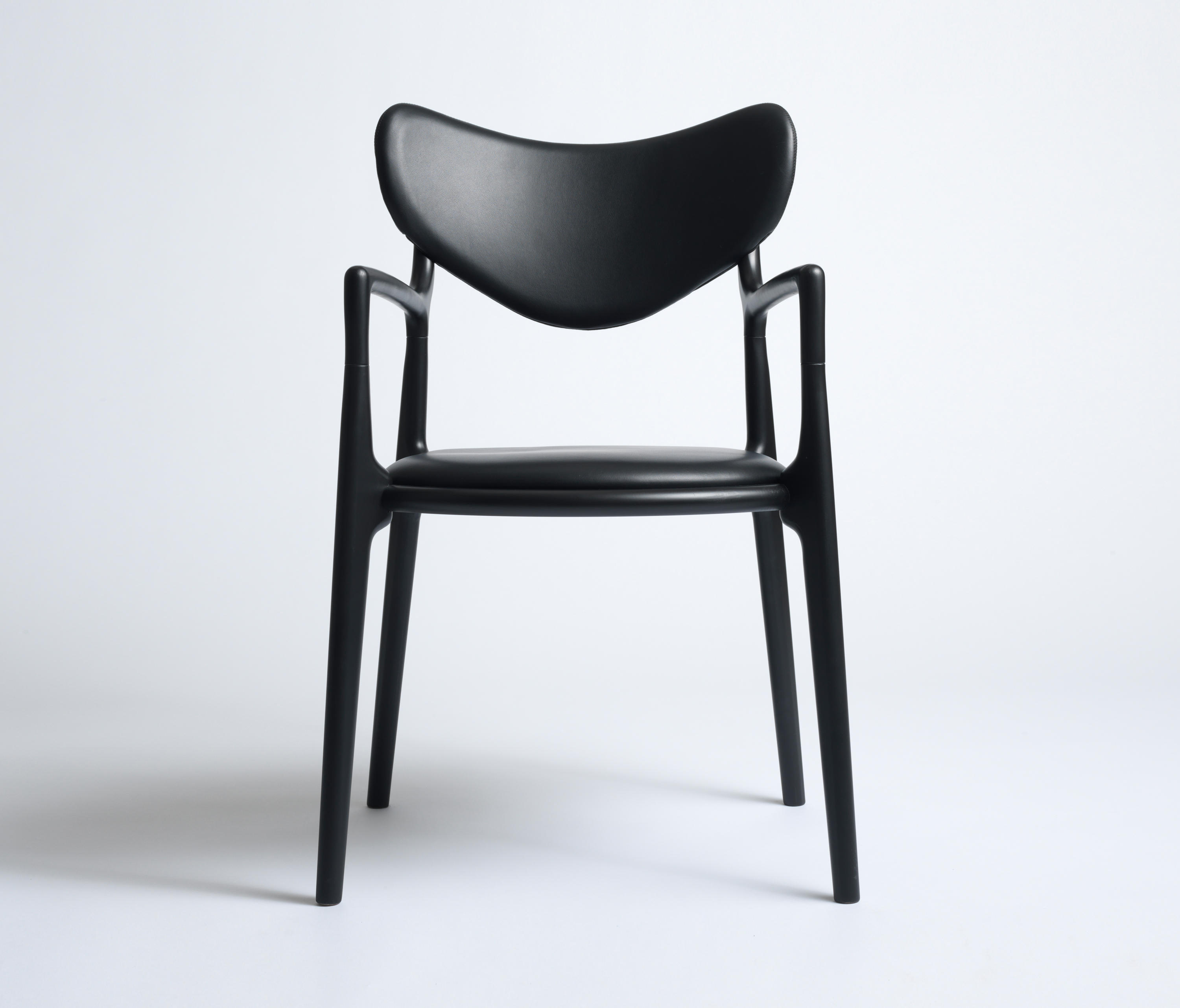 SALON CHAIR - BEECH BLACK - Chairs from True North Designs