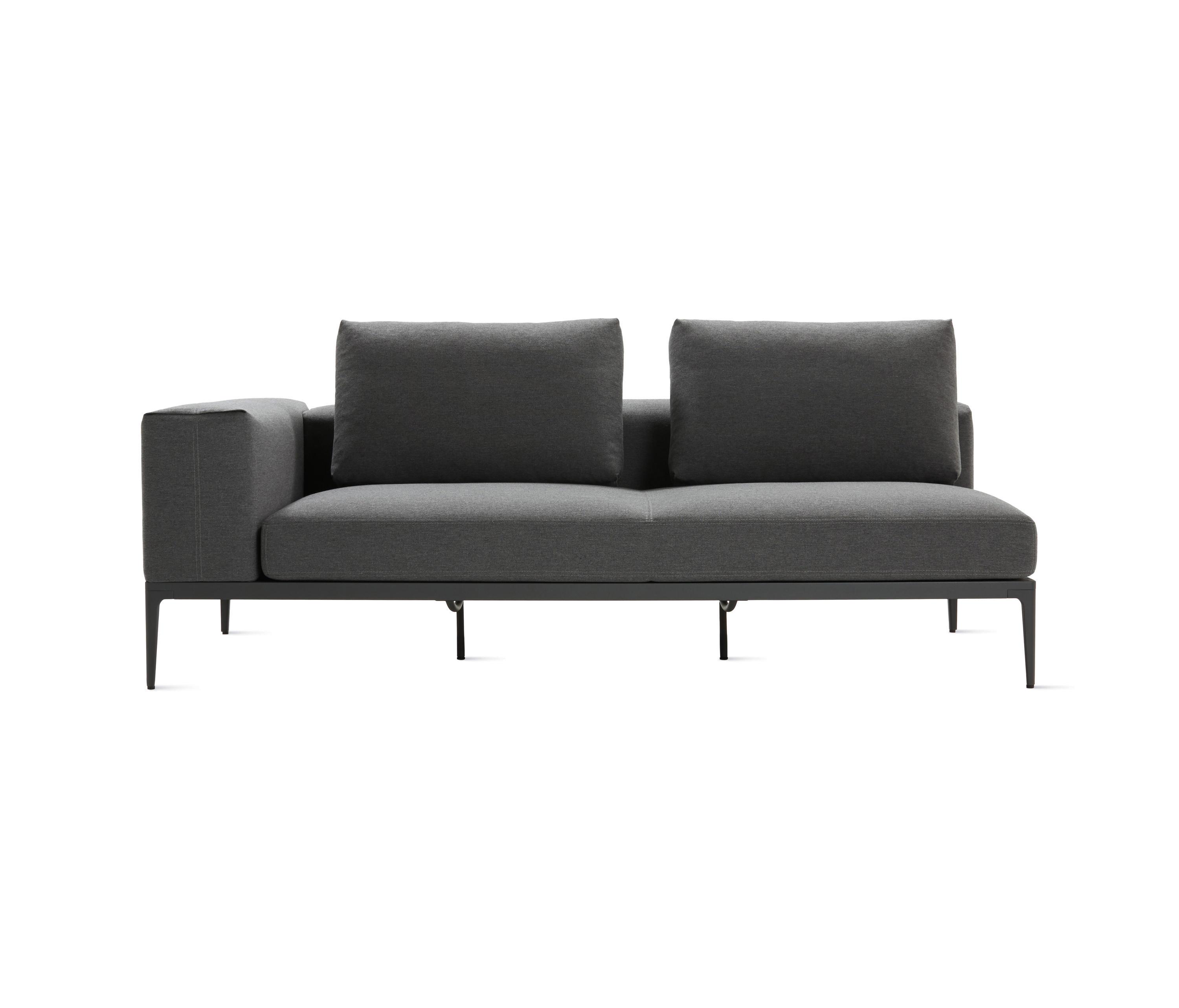 Grid One Arm Sofa Sofas From Design Within Reach