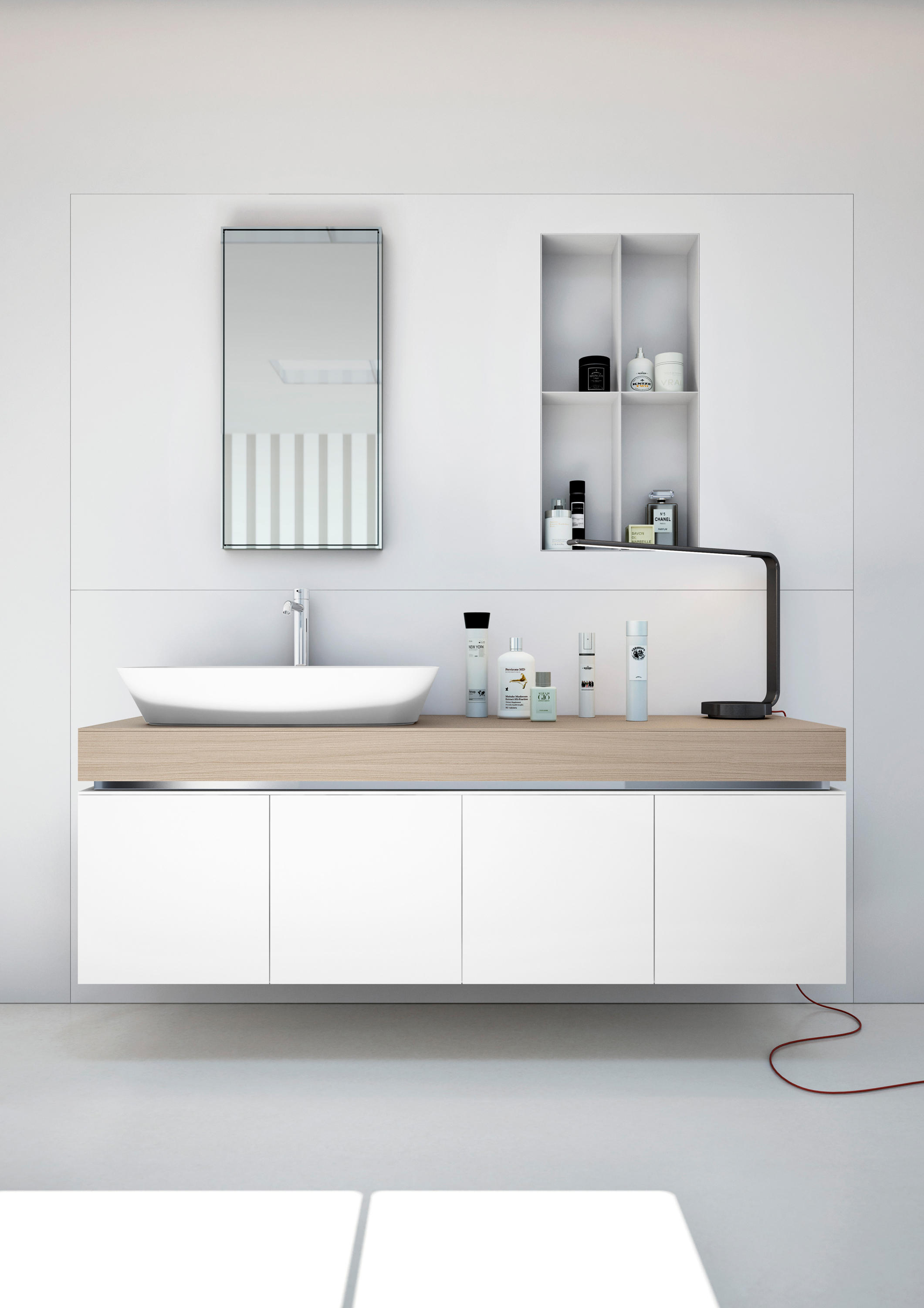 Joint wall cabinets from makro architonic for Bathroom cabinets makro
