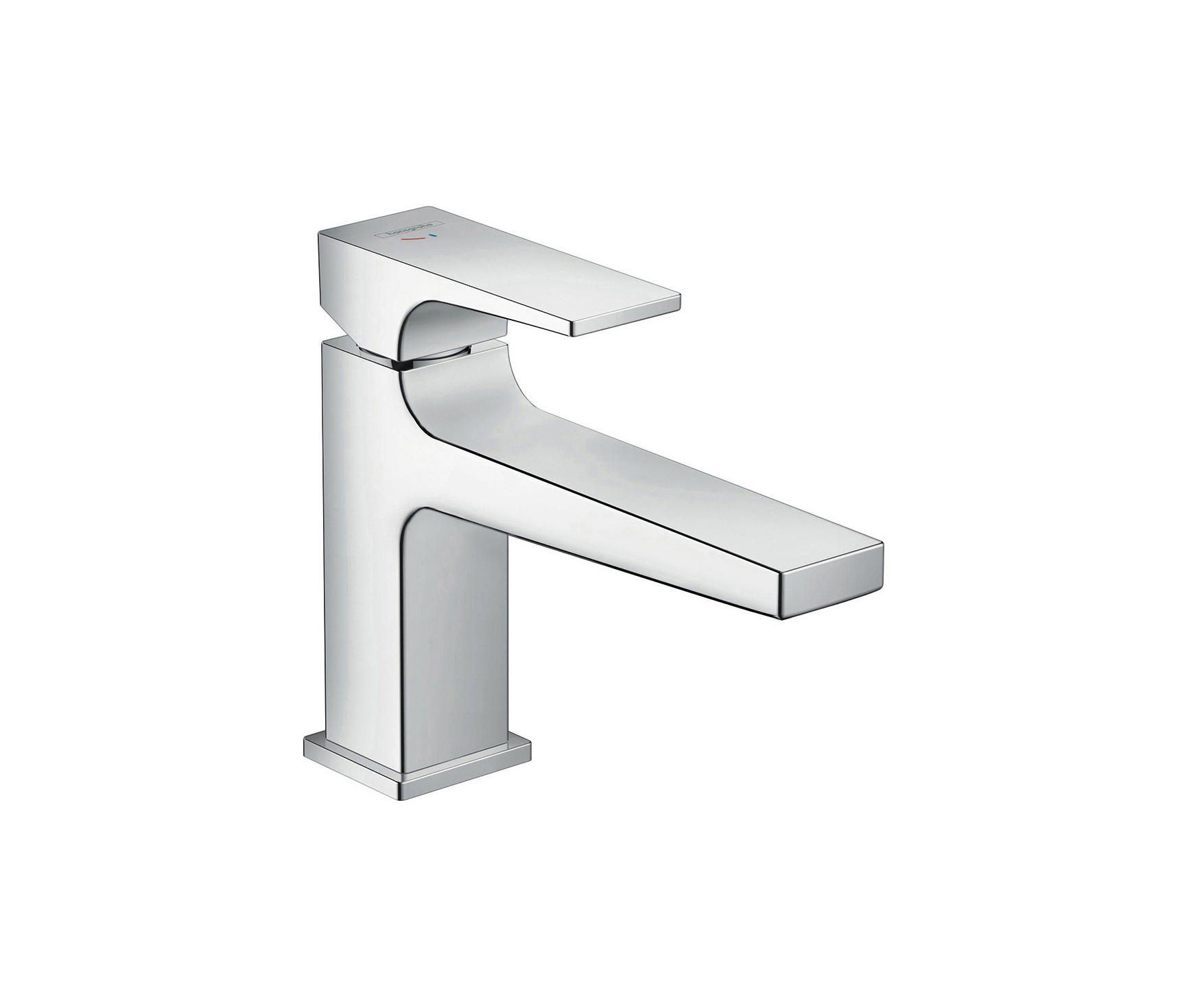 hansgrohe metropol single lever basin mixer 100 coolstart with lever handle and push open waste. Black Bedroom Furniture Sets. Home Design Ideas
