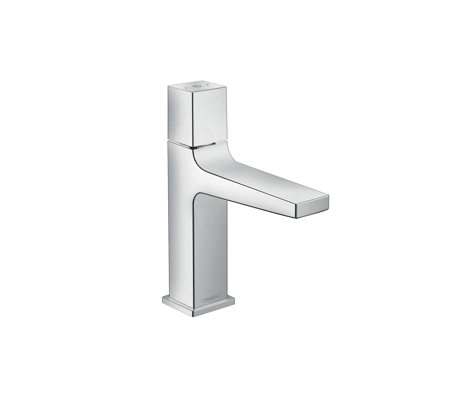 hansgrohe metropol select basin mixer 110 with push open waste set wash basin taps from. Black Bedroom Furniture Sets. Home Design Ideas