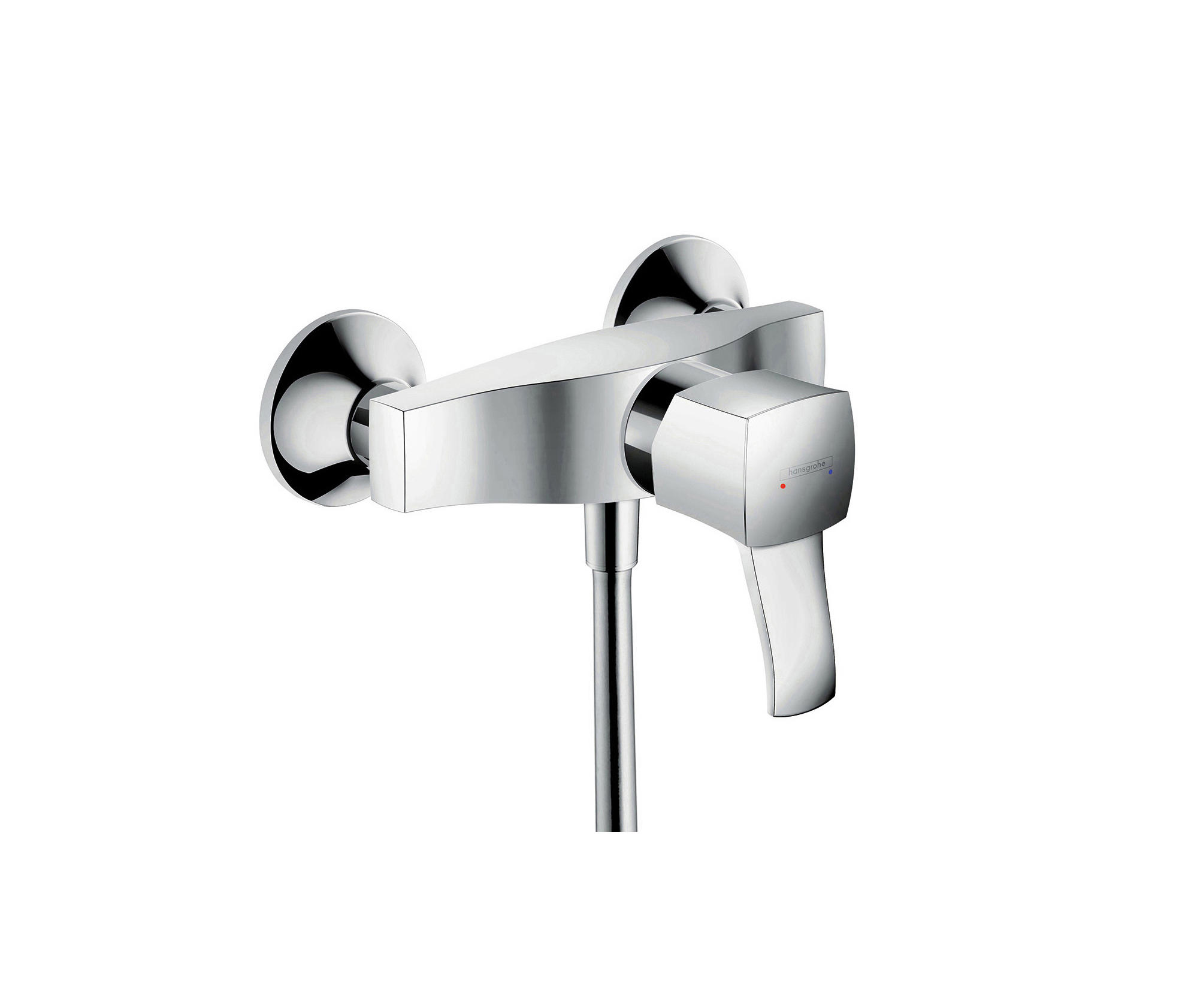 hansgrohe metropol classic single lever shower mixer for. Black Bedroom Furniture Sets. Home Design Ideas