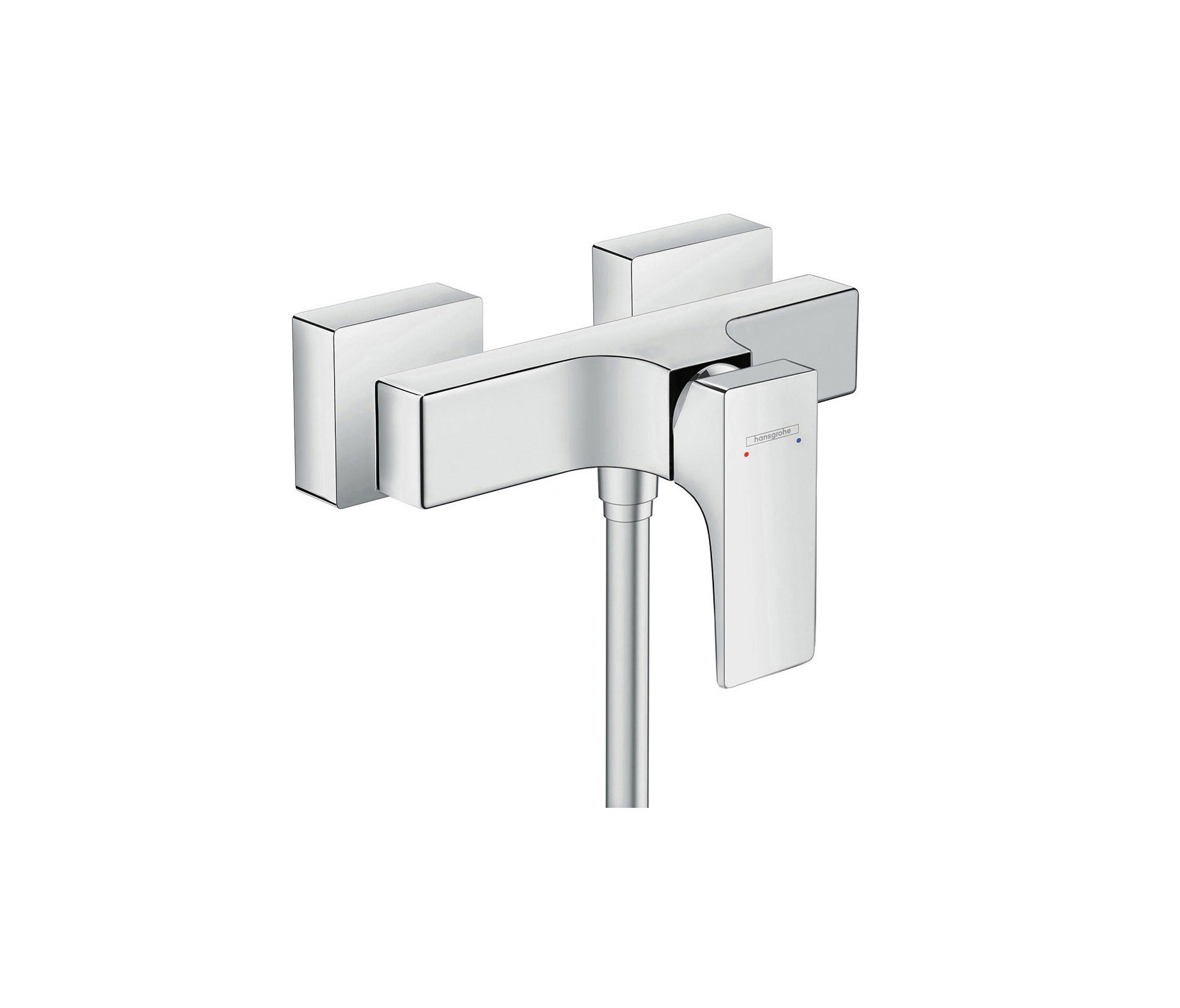 hansgrohe metropol single lever shower mixer with lever. Black Bedroom Furniture Sets. Home Design Ideas