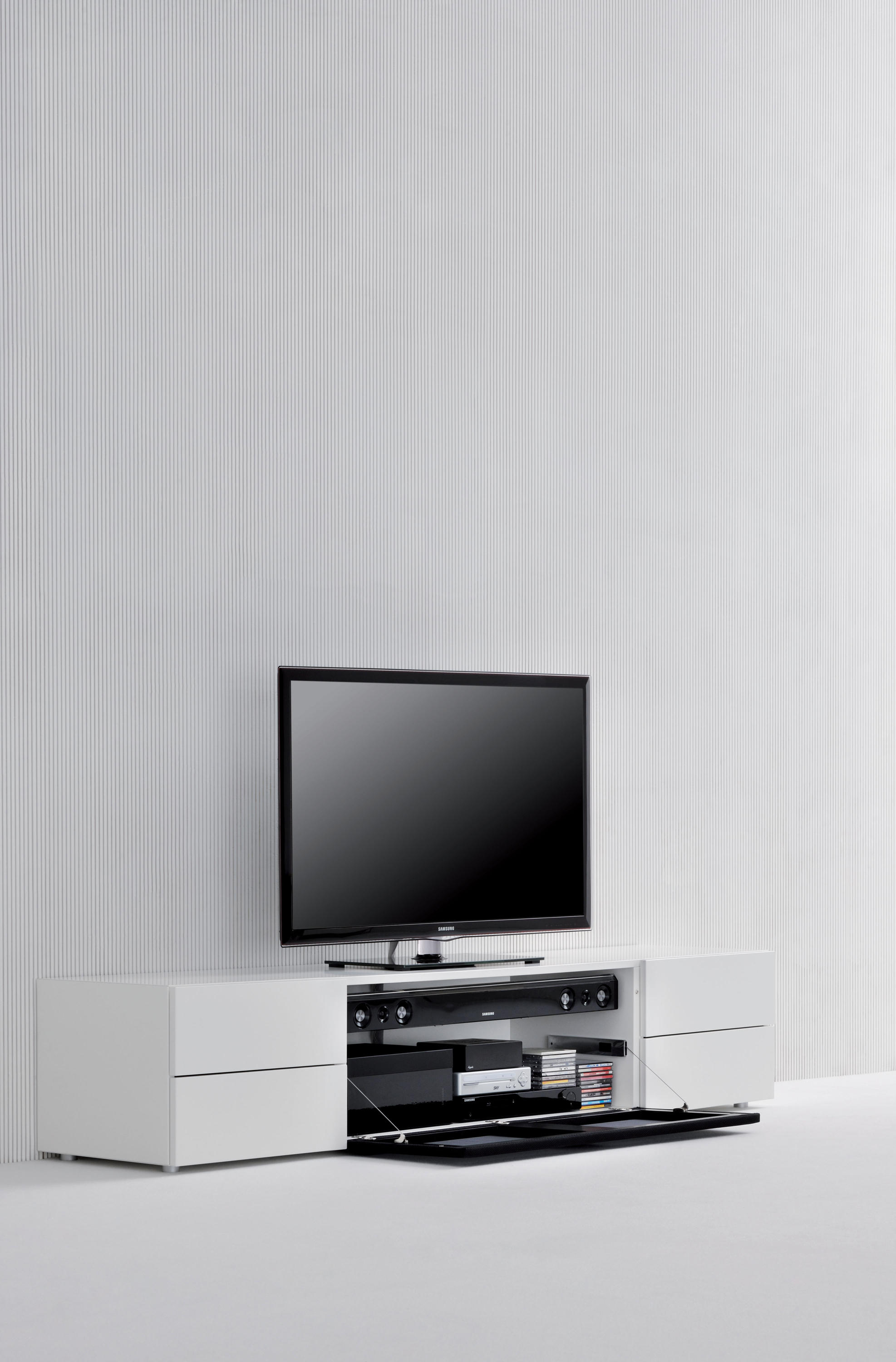 sound system multimedia sideboards from silenia architonic. Black Bedroom Furniture Sets. Home Design Ideas