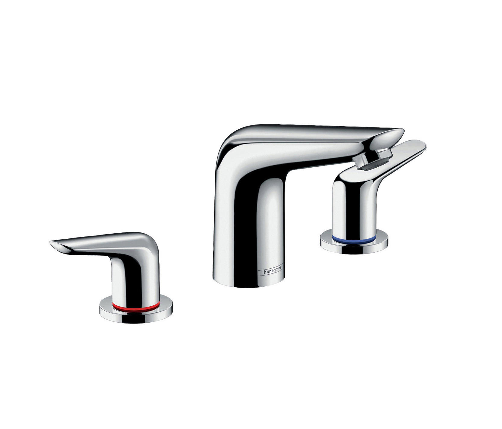 HANSGROHE NOVUS 3-HOLE BASIN MIXER 100 WITH POP-UP WASTE SET - Wash ...