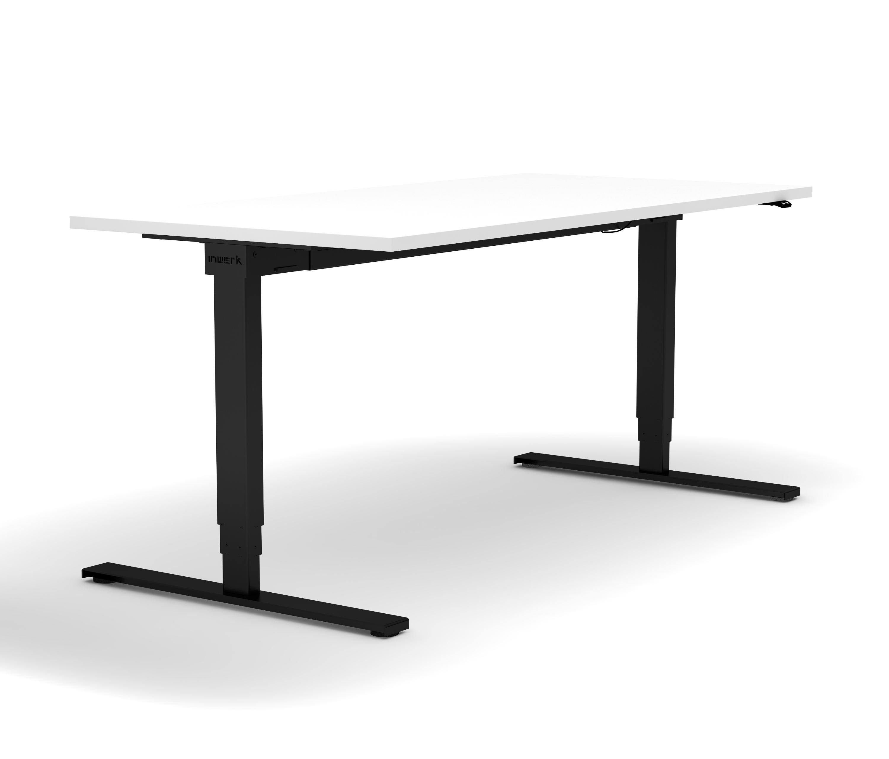 cherry height adjustable tables select impression crank legs leg all desk product c about enwork