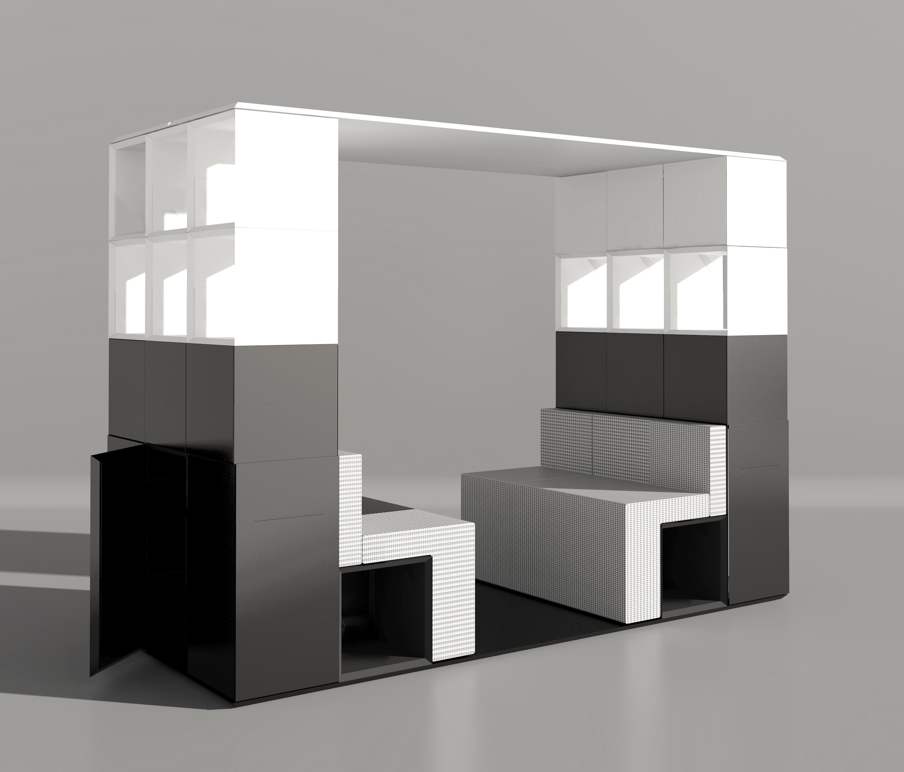 space within a space inwerk masterpod office systems from inwerk architonic. Black Bedroom Furniture Sets. Home Design Ideas