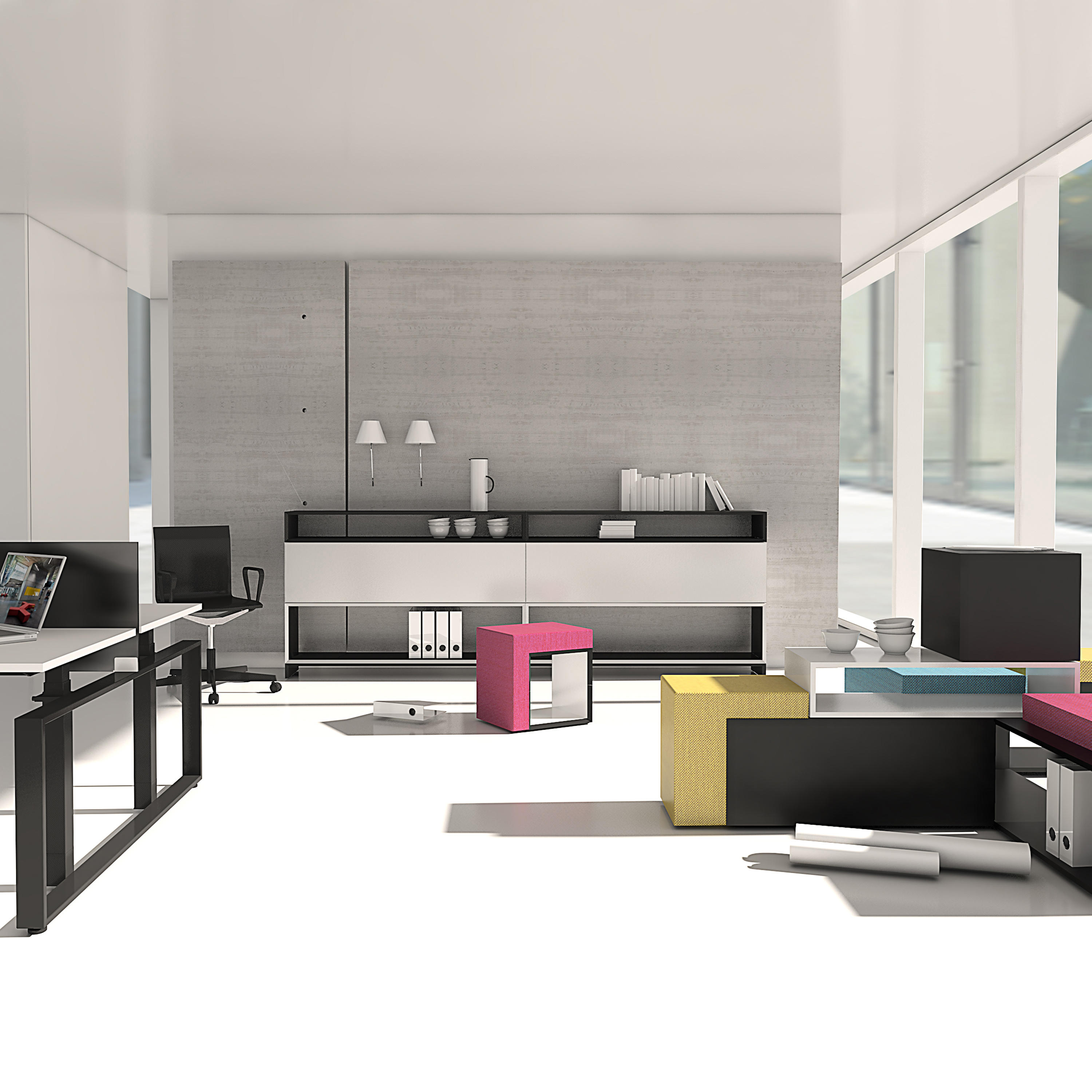 masterbox design sideboard 2 5 fh sideboards from inwerk architonic. Black Bedroom Furniture Sets. Home Design Ideas