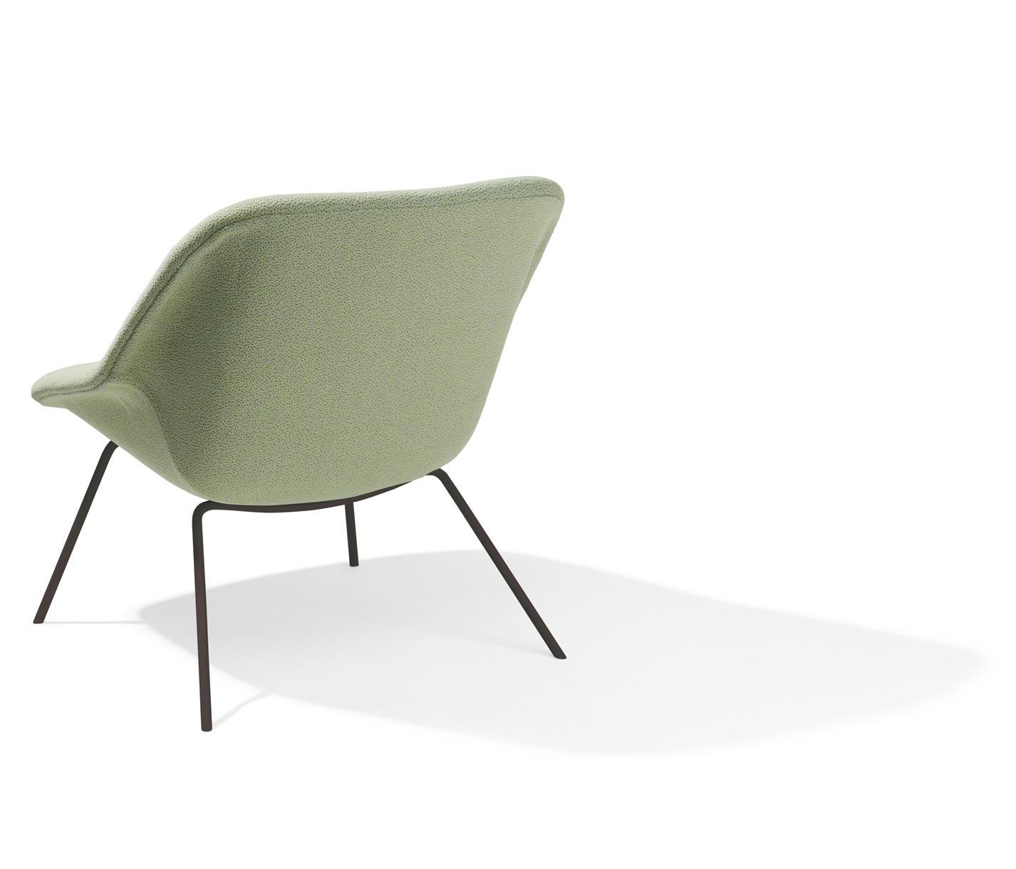 h 55 sessel loungesessel von richard lampert architonic. Black Bedroom Furniture Sets. Home Design Ideas
