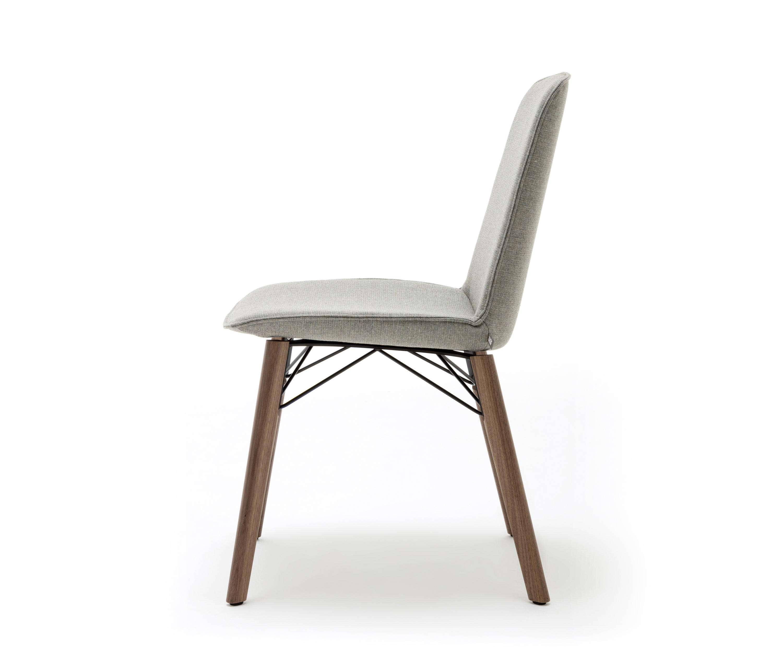 rolf benz 616 st hle von rolf benz architonic. Black Bedroom Furniture Sets. Home Design Ideas