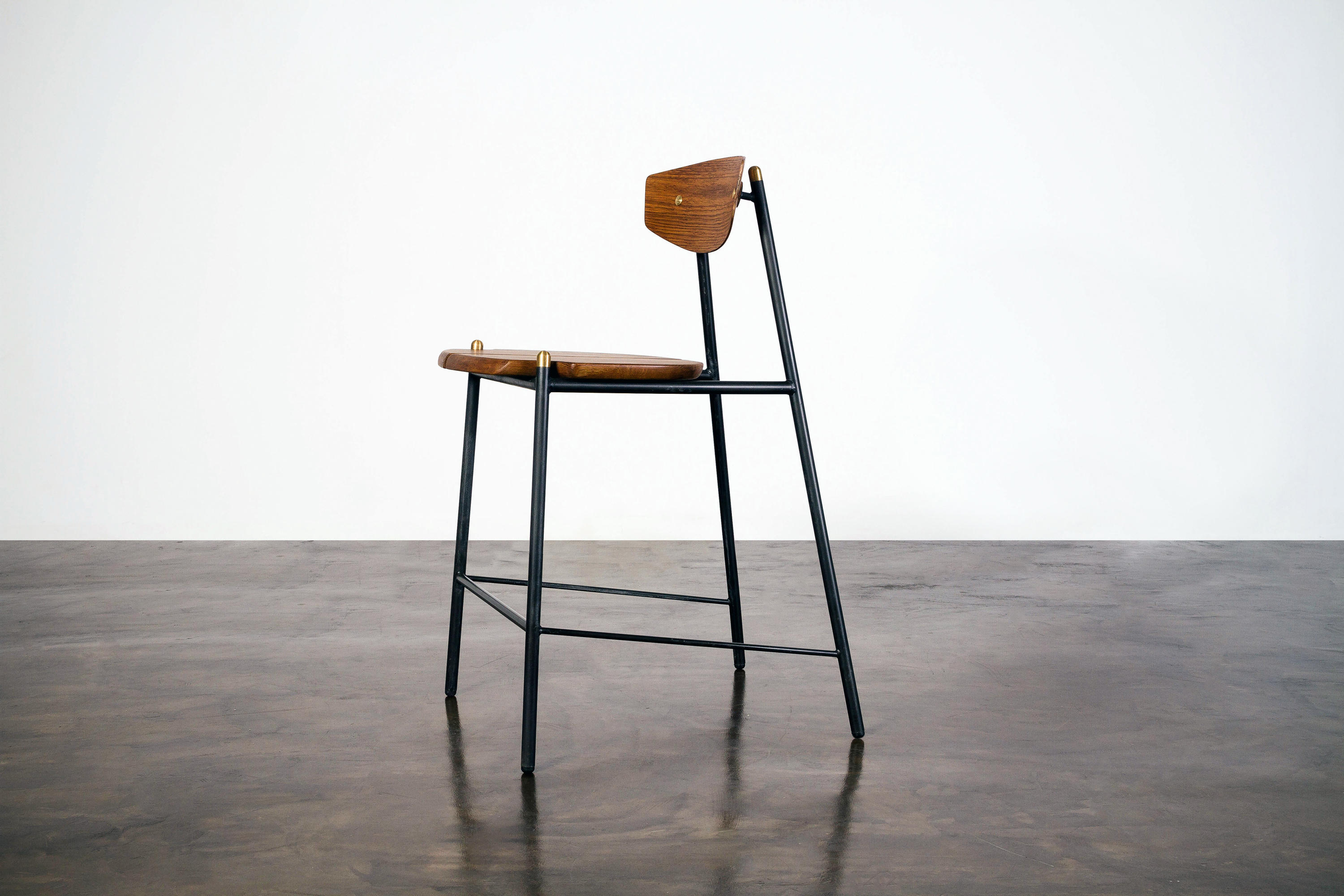 Kink Counter Stool Bar Stools From District Eight