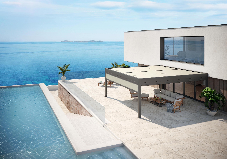 markilux marquant pergolas de markilux architonic. Black Bedroom Furniture Sets. Home Design Ideas
