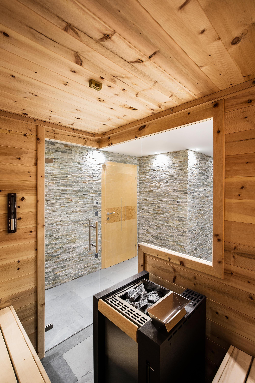 SWISS PINE INDOOR SAUNA - Saunas from DEISL SAUNA & WELLNESS ...
