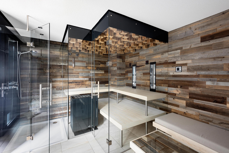altholz panoramasauna saunen von deisl sauna wellness architonic. Black Bedroom Furniture Sets. Home Design Ideas