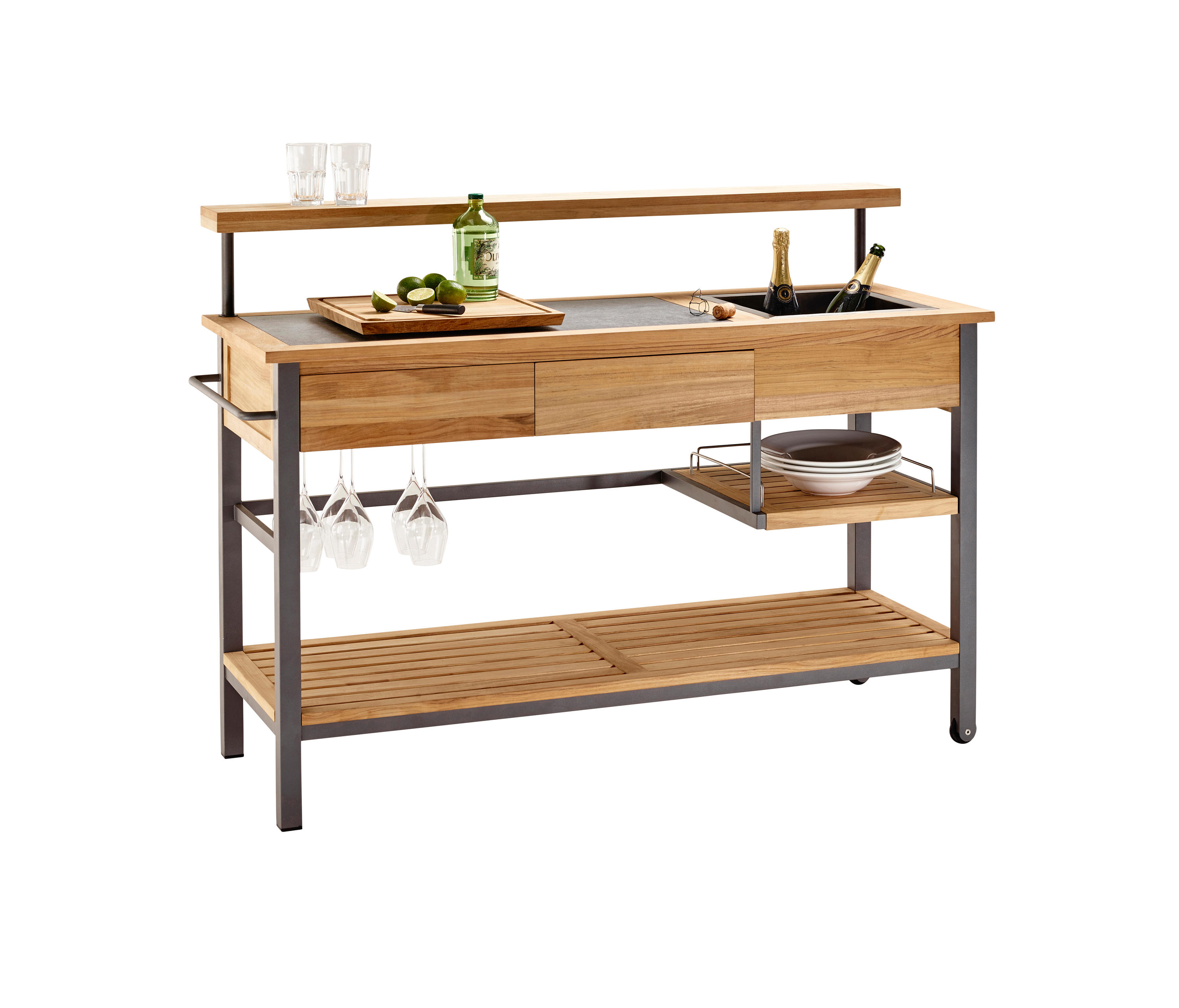BUTLER KITCHEN TROLLEY - Outdoor kitchens from solpuri ...