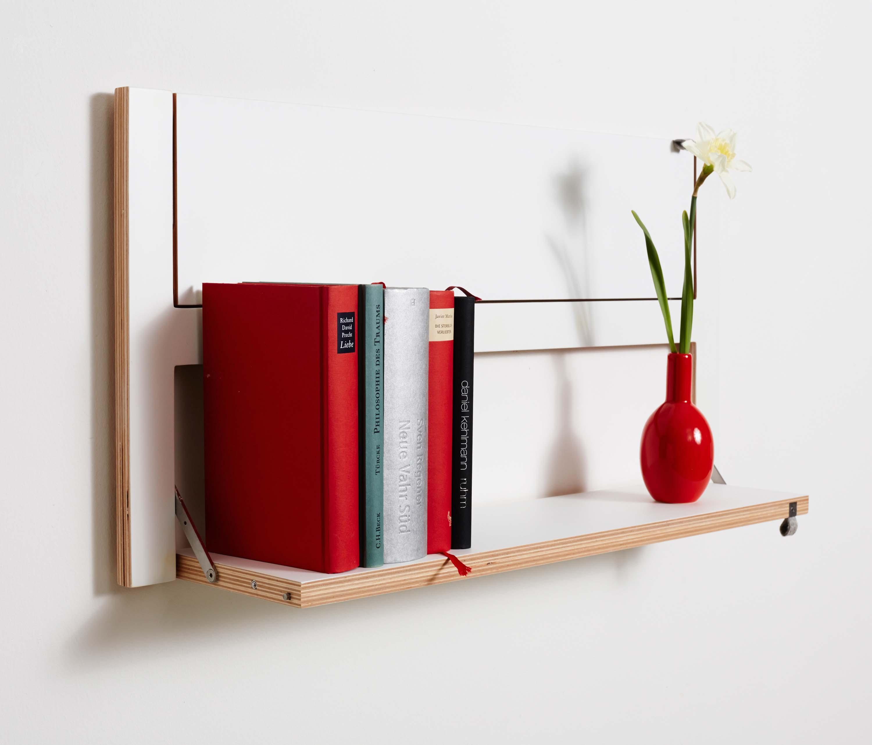 fl pps regal 80x40 2 wei regale von ambivalenz architonic. Black Bedroom Furniture Sets. Home Design Ideas
