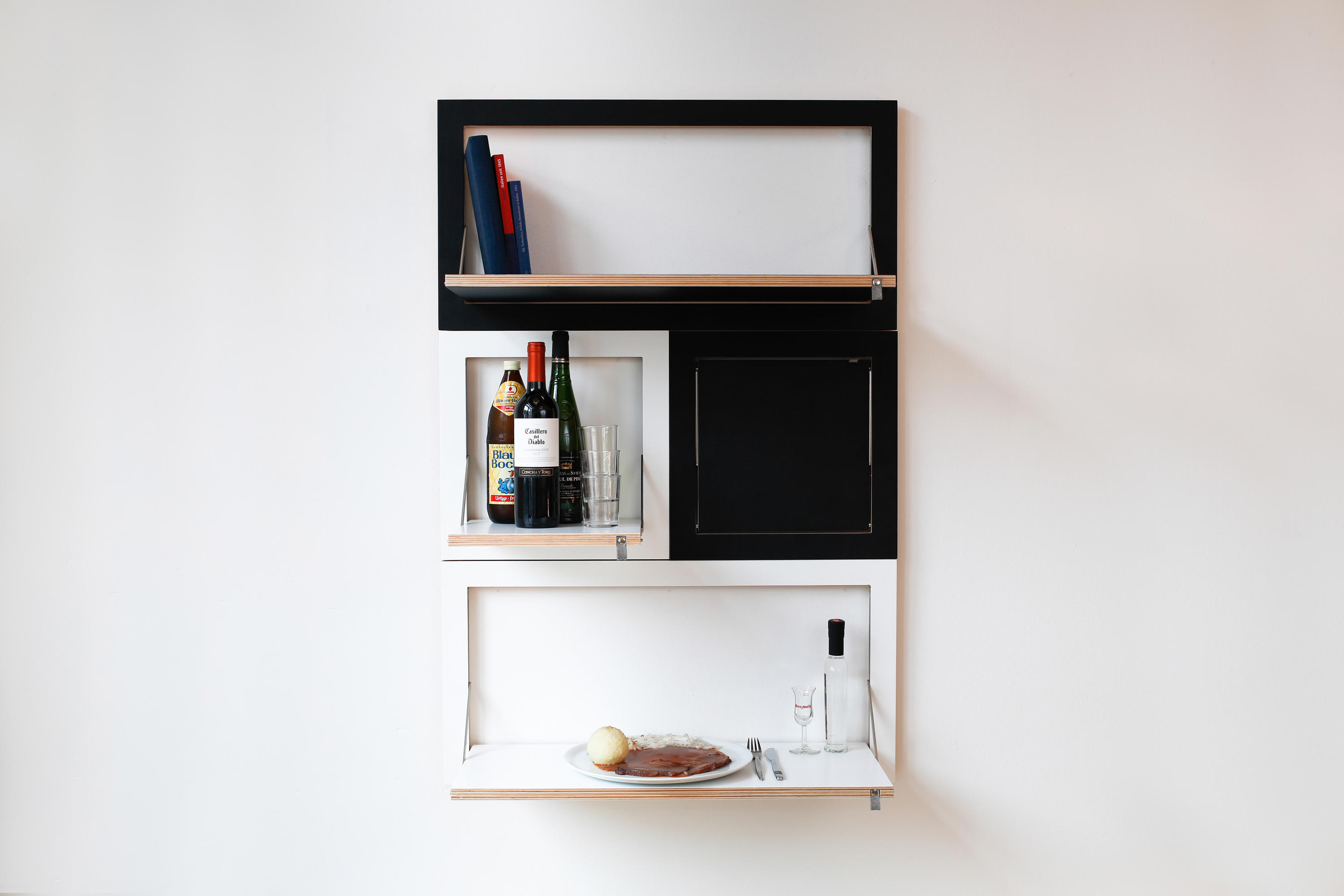 FLÄPPS SYSTEM - Wall storage systems from Ambivalenz ...