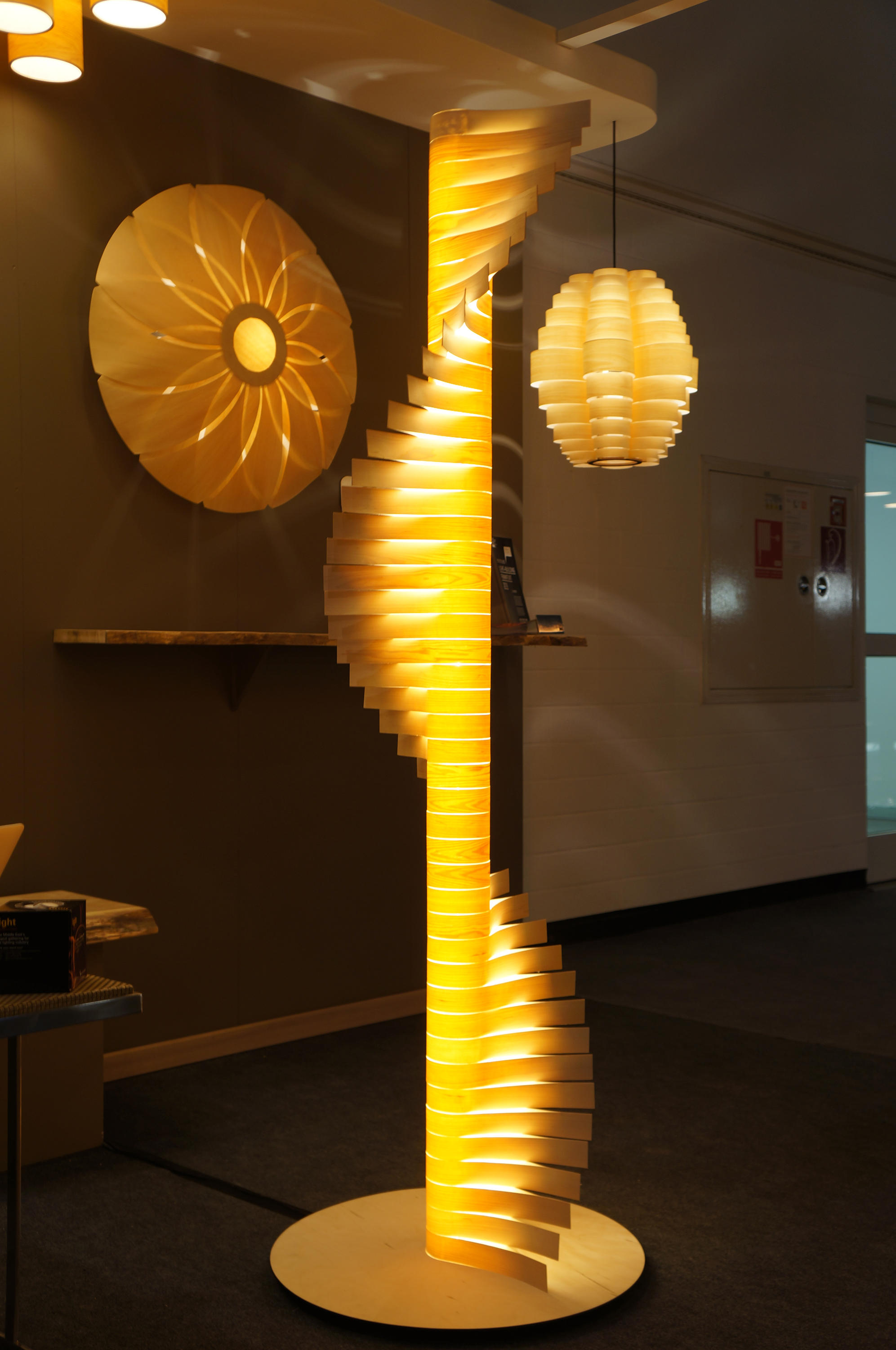 passion lighting. Helix Custom By Passion 4 Wood | General Lighting