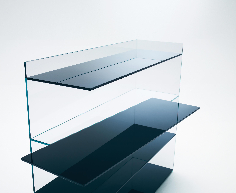 Slide librerie shelving from glas italia architonic