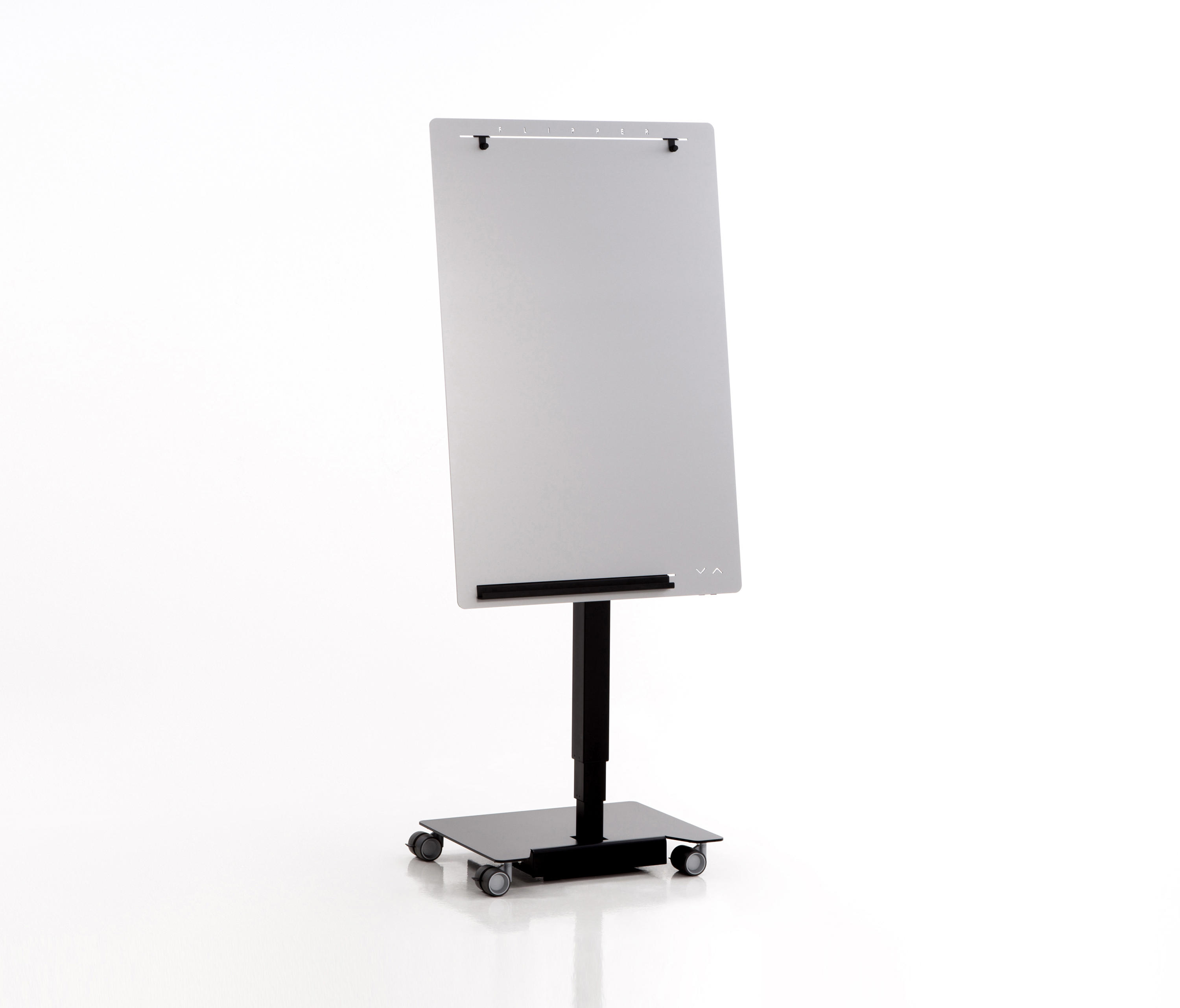 ELECTRICALLY HEIGHT-ADJUSTABLE, MOBILE FLIPCHART FLIPPER ...