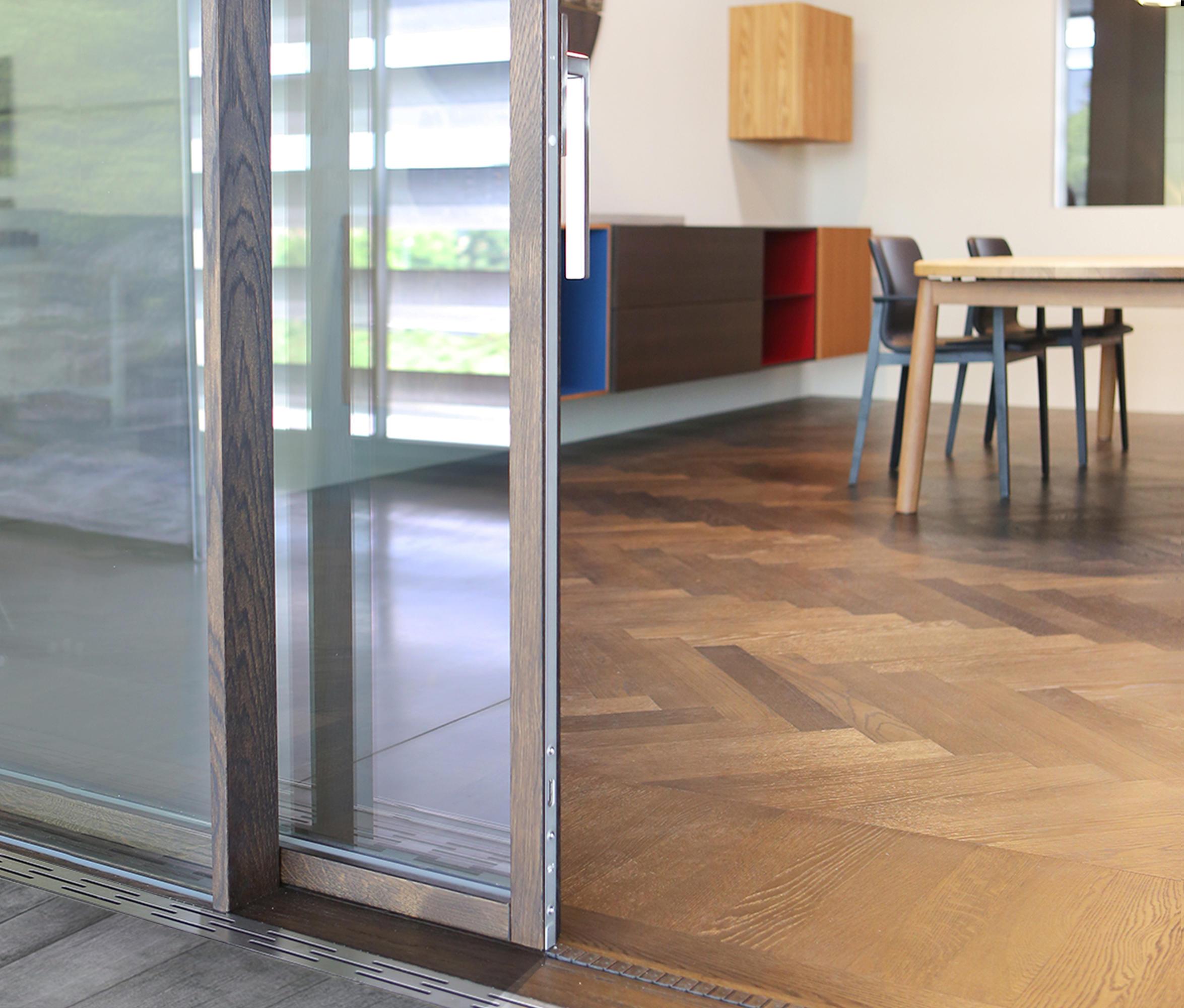 Ghost Wood Minimal Sliding Door Patio Doors From Isam Architonic