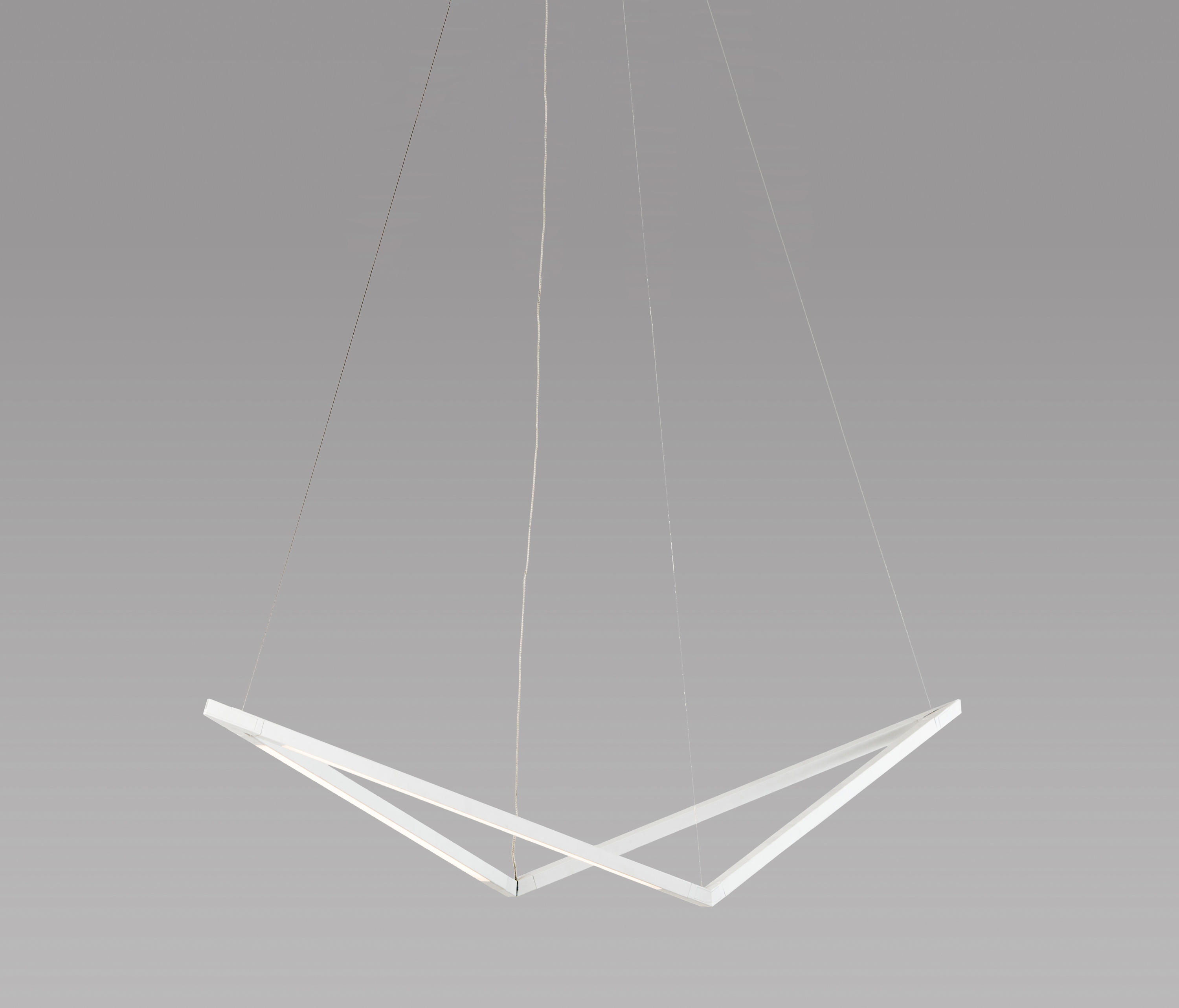 Z bar pendant 16 bird matte white canopy general lighting from z bar pendant 16 bird matte white canopy by koncept aloadofball Gallery