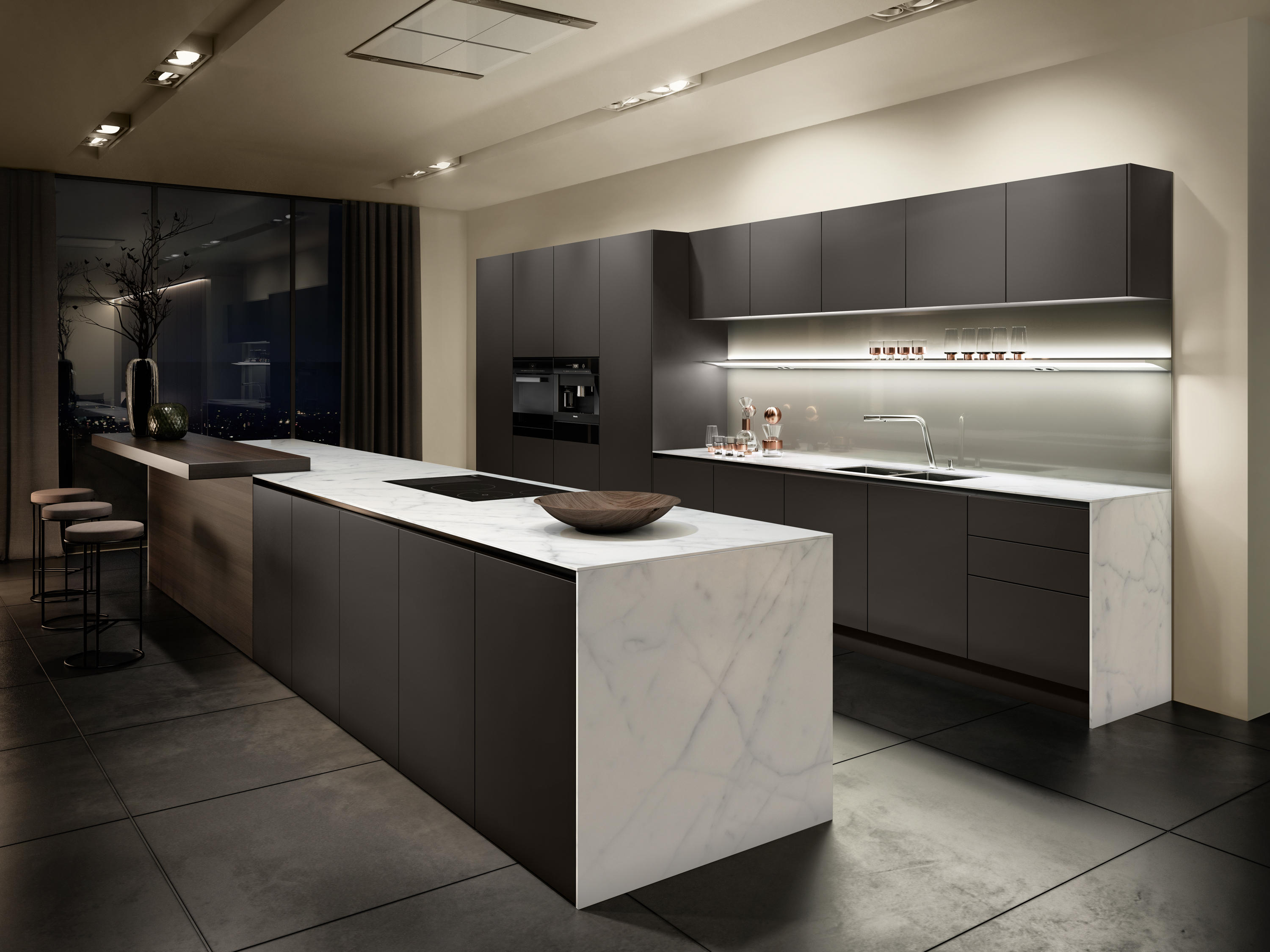 Pure Fitted Kitchens From Siematic Architonic