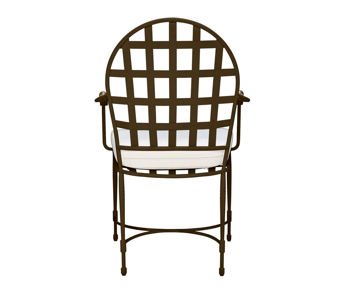 AMALFI ROUND BACK ARMCHAIR - Restaurant chairs from JANUS et Cie ...