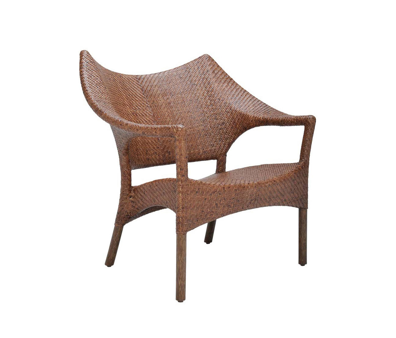 Amari Rattan Low Back Lounge Chair Armchairs From Janus