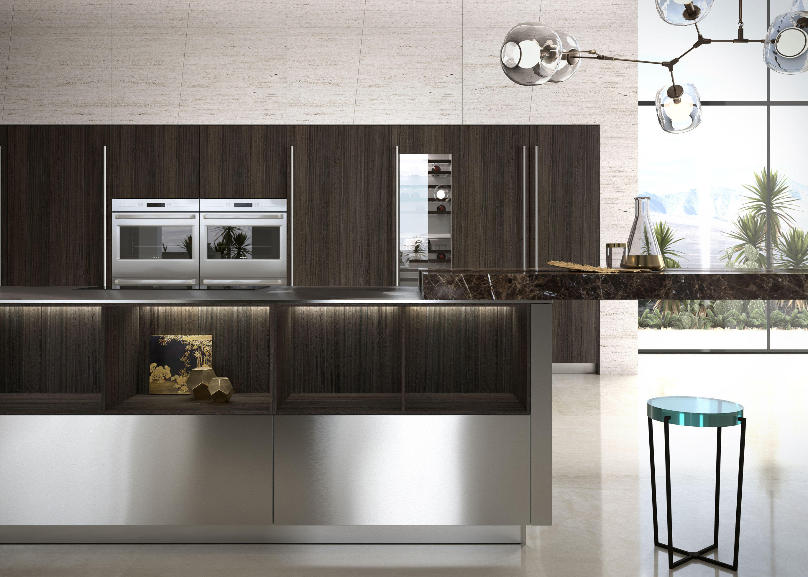 E01|E02 NIGHT EUCALYPTUS - Cucine parete Snaidero USA | Architonic