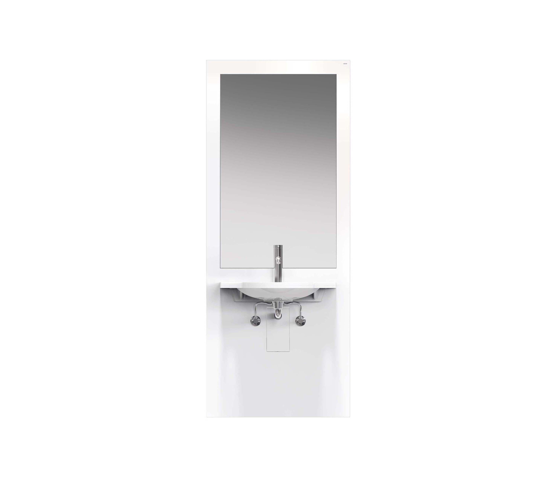 waschtisch-modul | s50.01.202010 - badregale von hewi | architonic