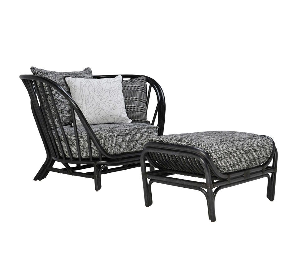 Kyoto Rattan Lounge Chair Amp Ottoman Armchairs From Janus