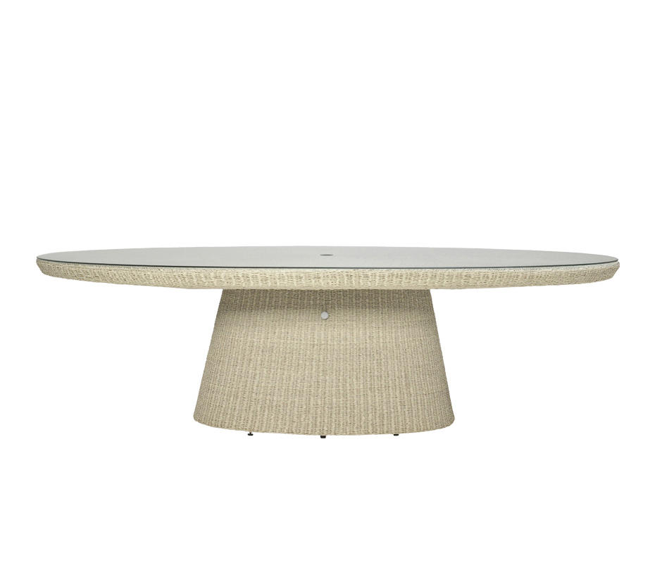 Strada Glass Top Dining Table Oval 260 Dining Tables Von Janus Et