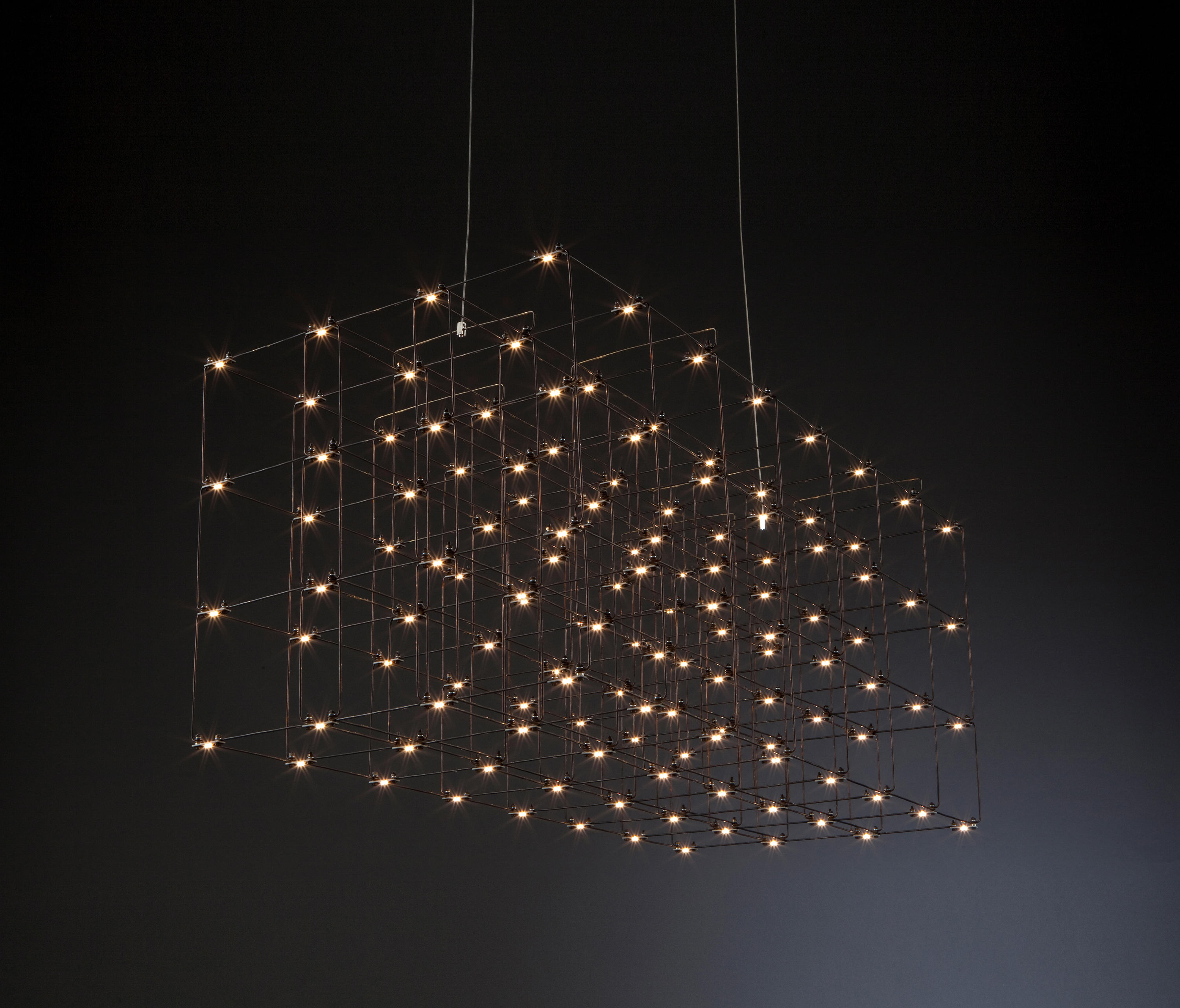 Cosmos Square Triple Suspended Lights From Quasar Architonic