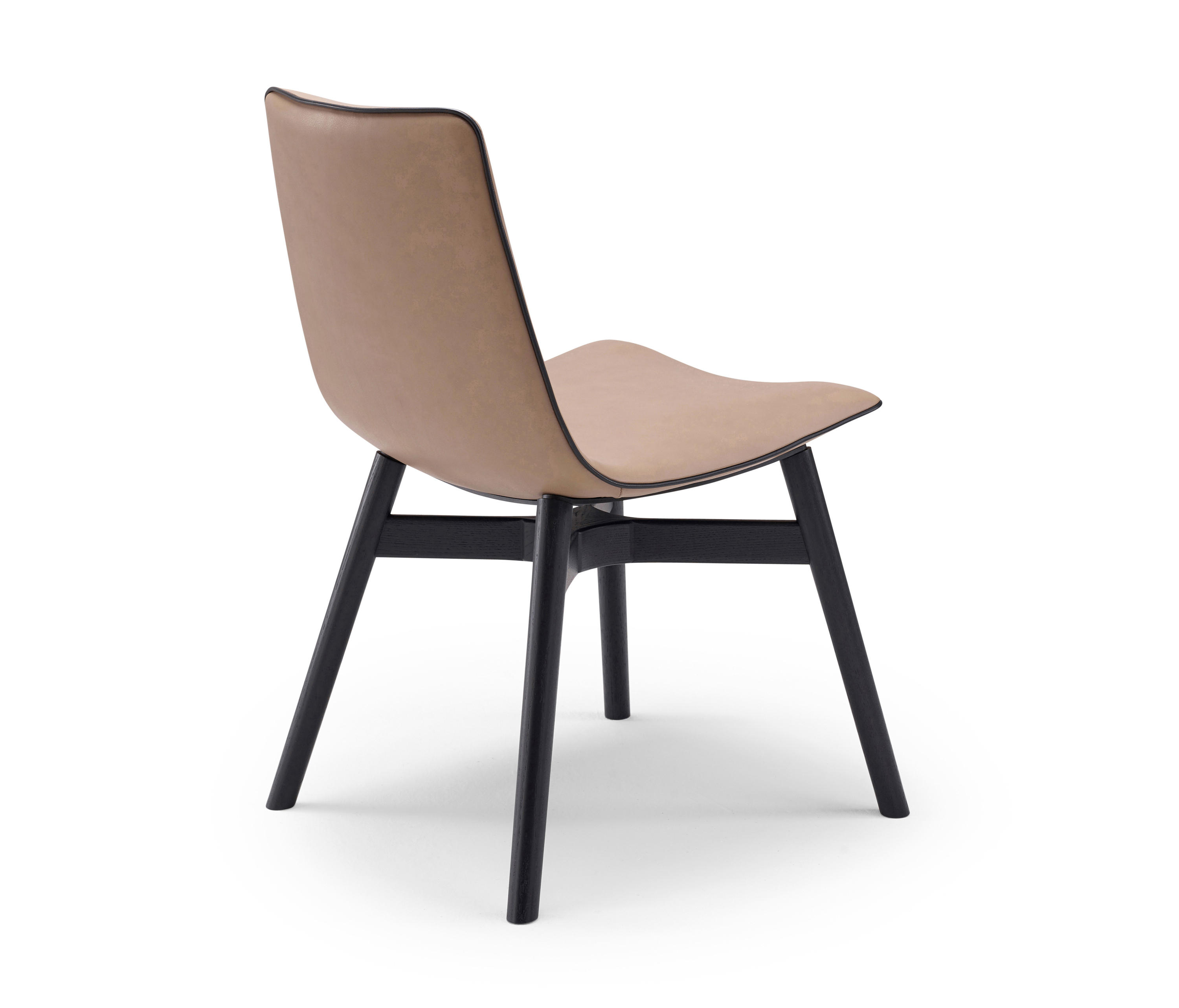 AMELIE | BASIC WITH WOODEN FRAME WITH CROSS - Chairs from Freifrau ...