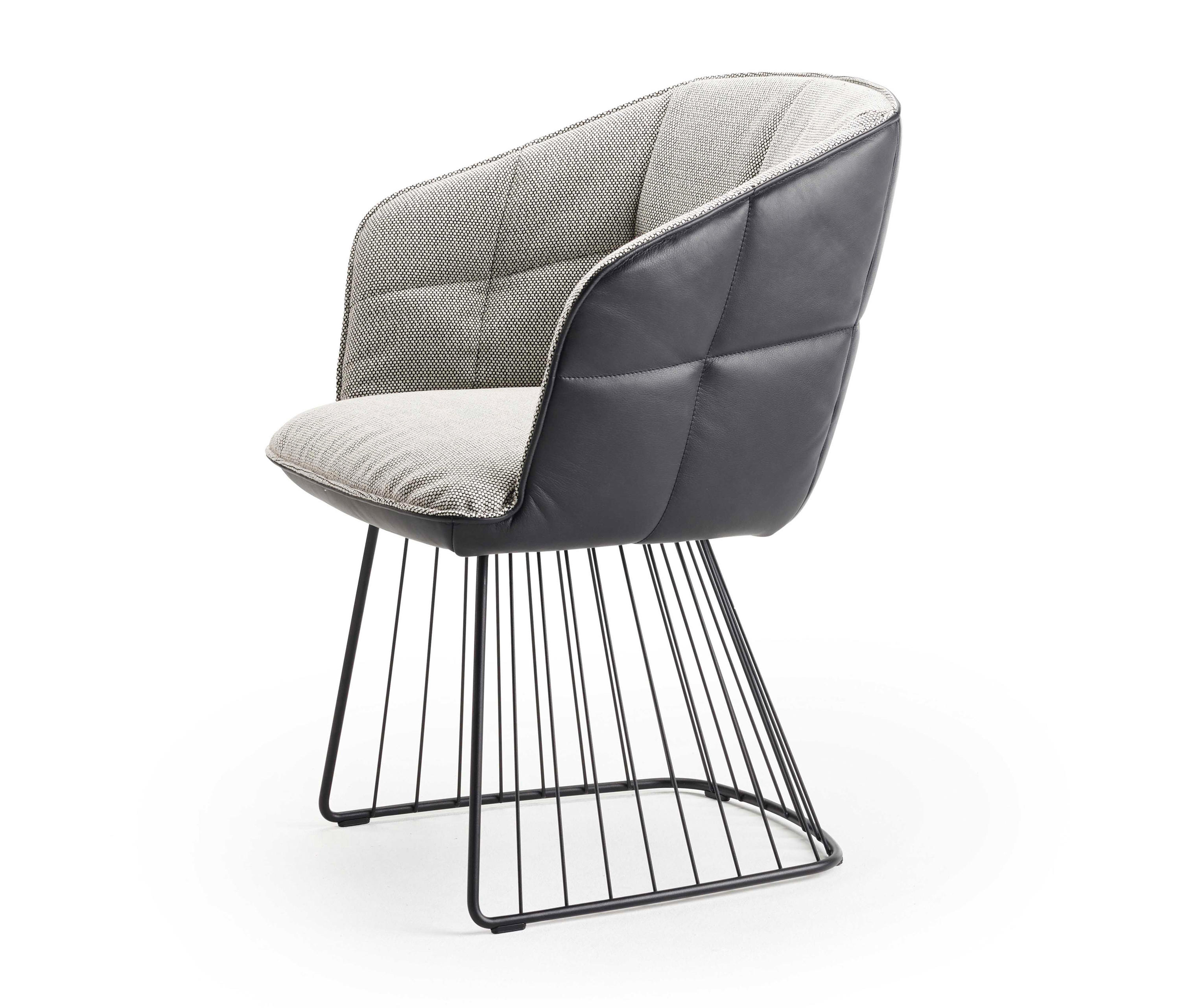 Marla Armchair High With Harp Frame Chairs From Freifrau