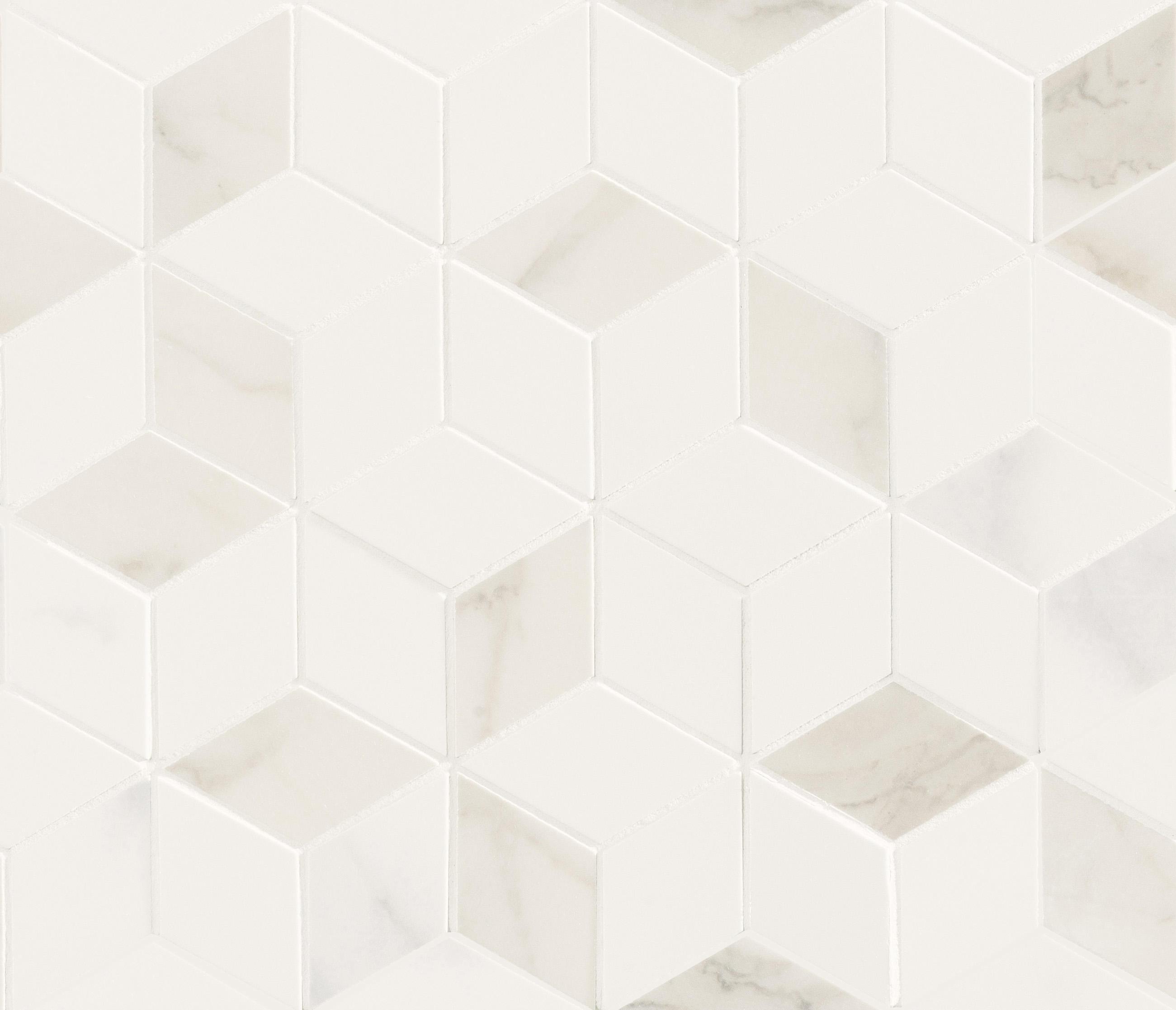 DELUXE | WHITE TESSERE ROMBI - Piastrelle ceramica Marca Corona ...