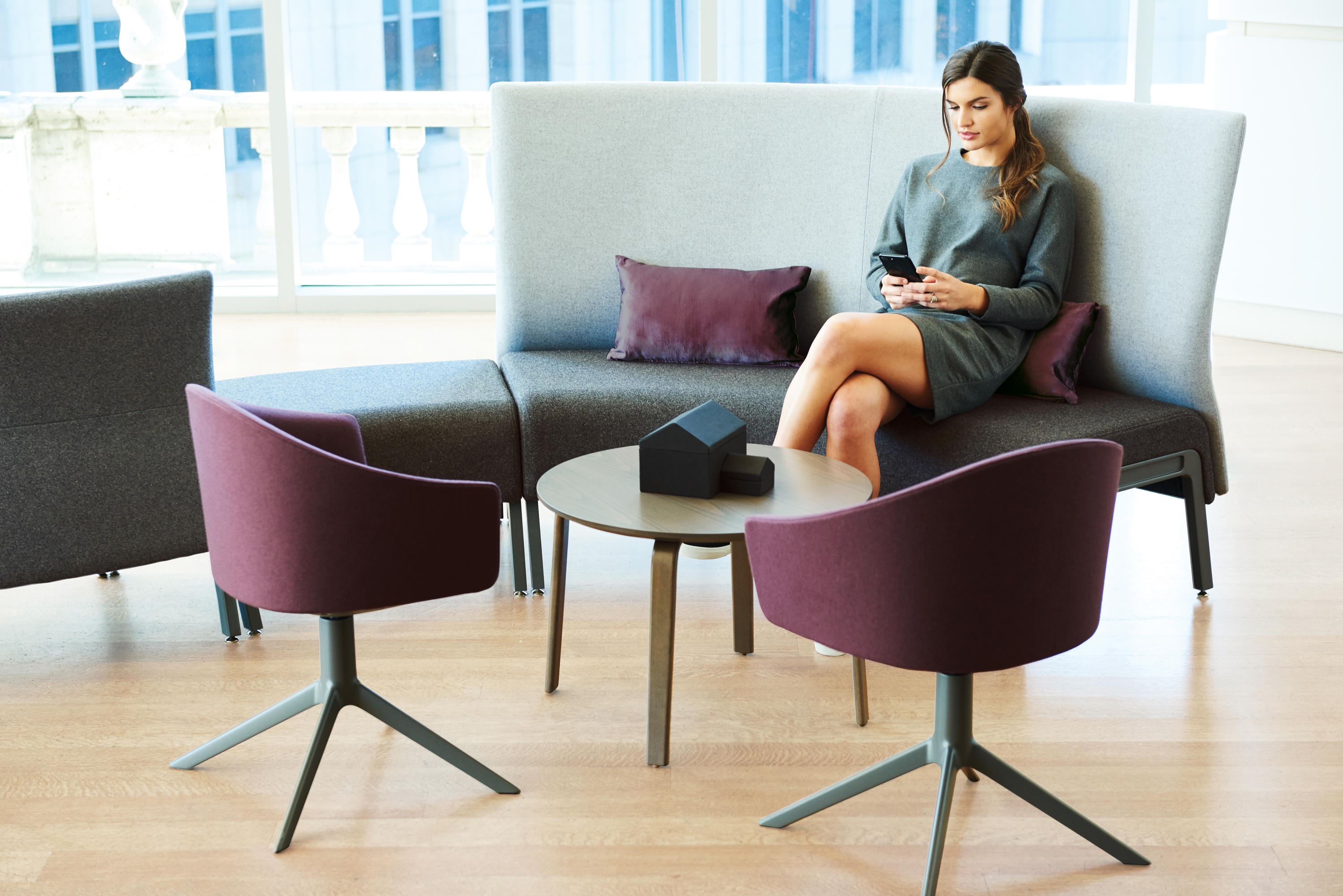 Zones Modular Seating Sofas From Teknion Architonic